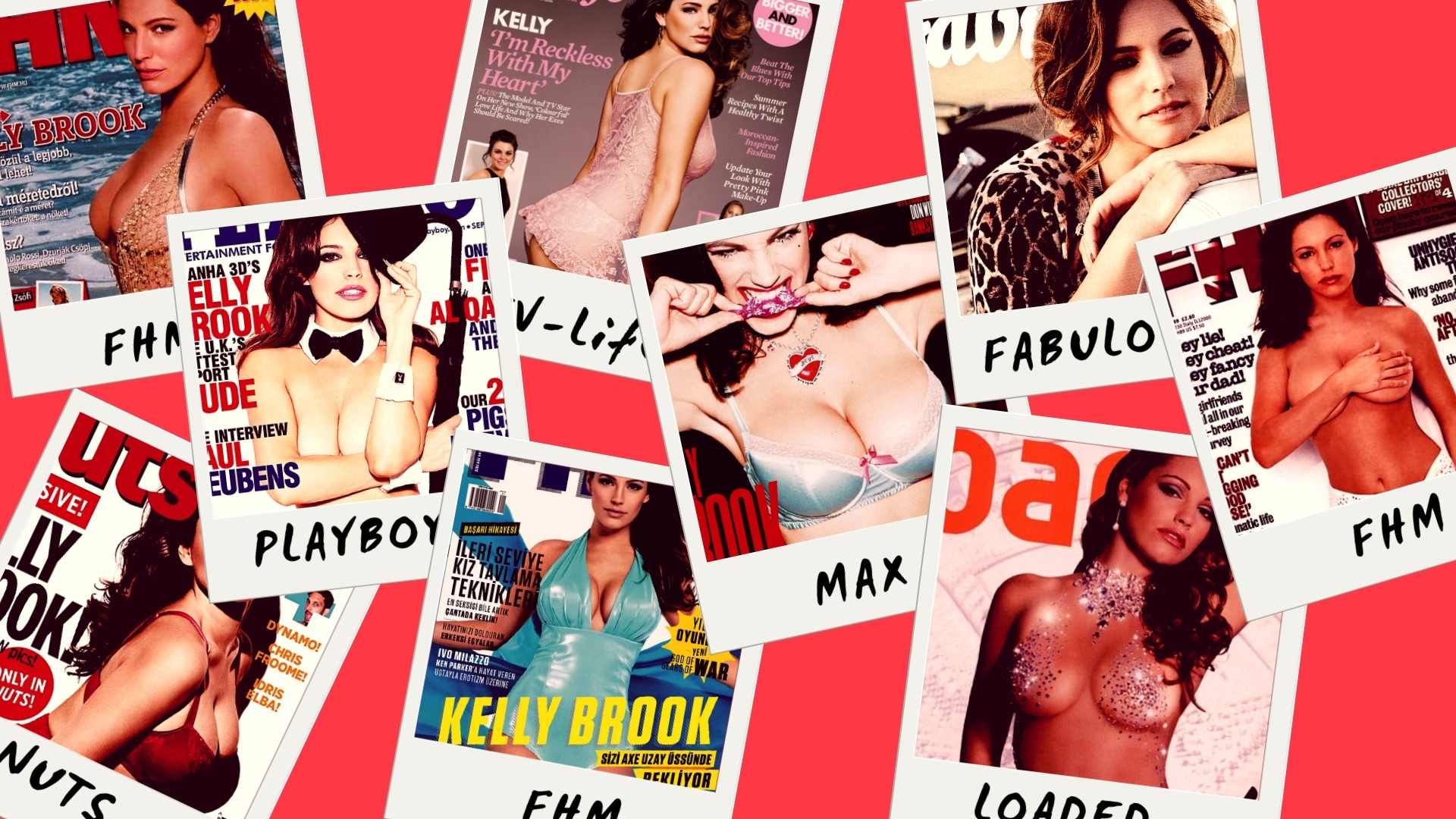 Sexy Kelly Brook on Various Magazine Covers - Sexy Actress Pictures | Hot Actress Pictures - ActressSnaps.com