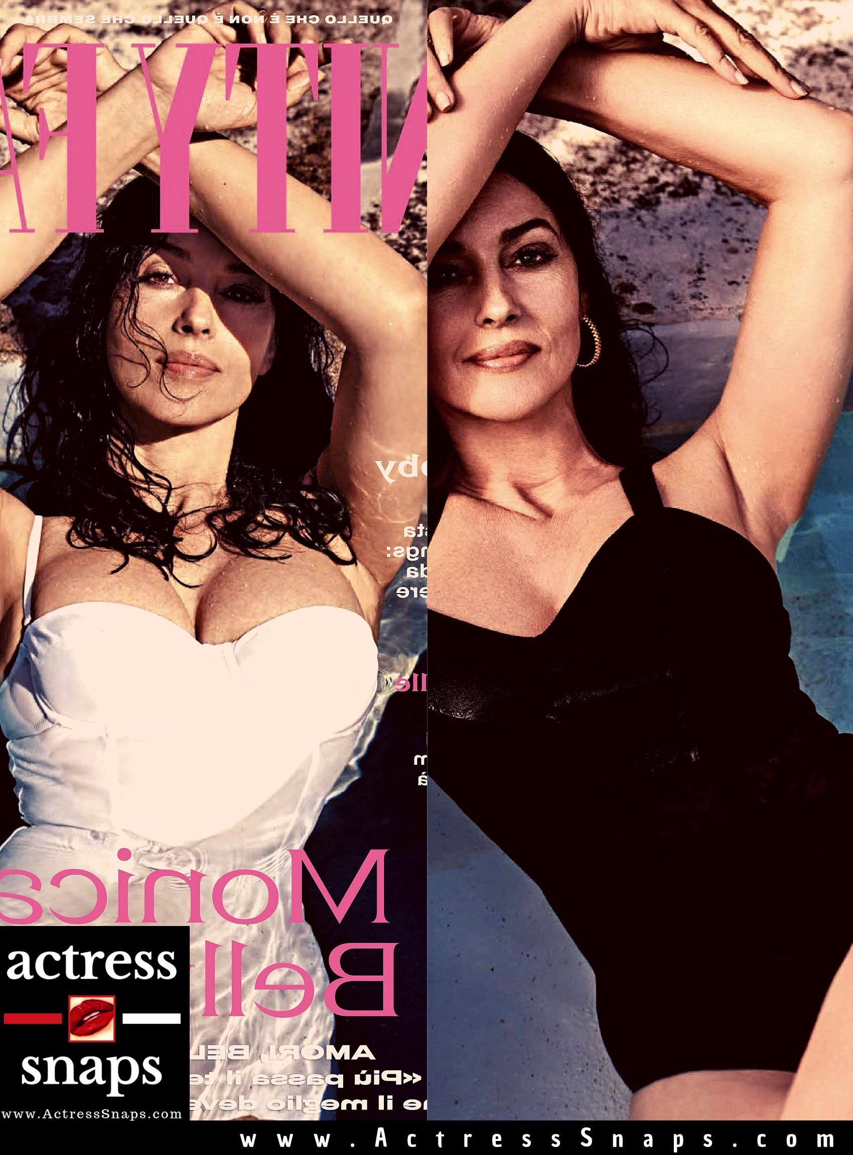 Monica Bellucci - Vanity Fair Italia Magazine - Sexy Actress Pictures | Hot Actress Pictures - ActressSnaps.com