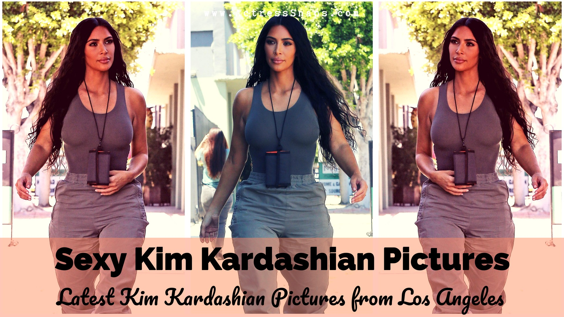 Latest Kim Kardashian Candid Pictures - Sexy Actress Pictures   Hot Actress Pictures - ActressSnaps.com