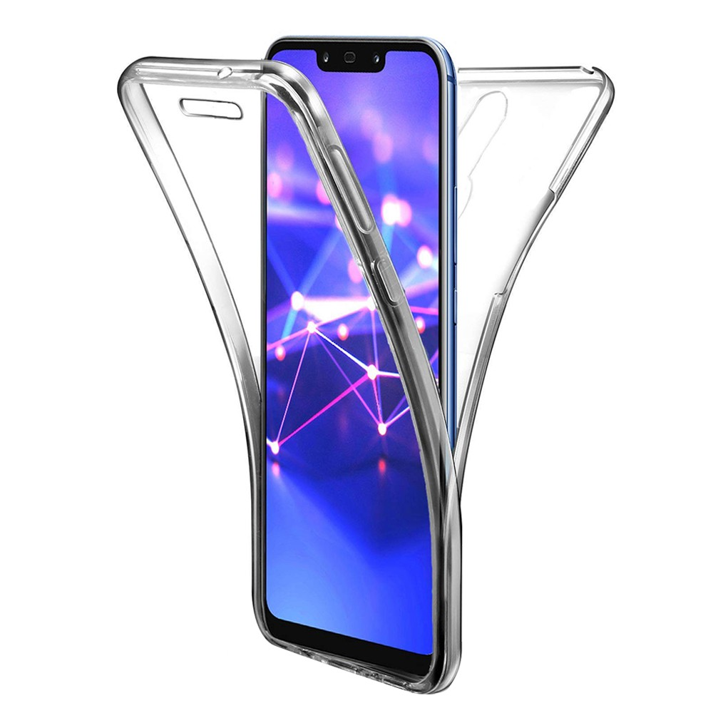 etui coque silicone  avant  arriere huawei mate  lite  maimang  ebay