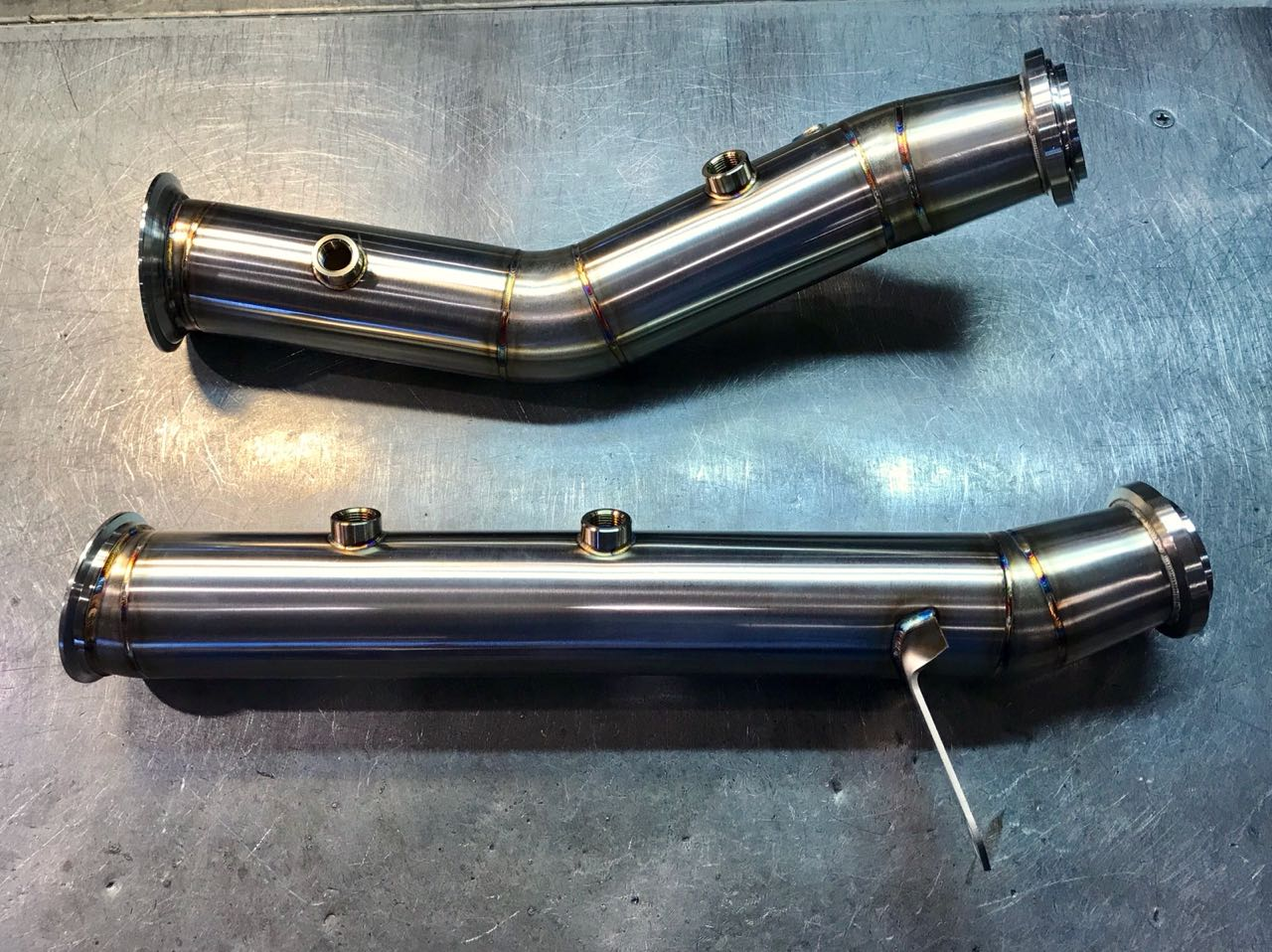 W205 C400 C450 C43 Downpipe kit - Page 2 - MBWorld org Forums