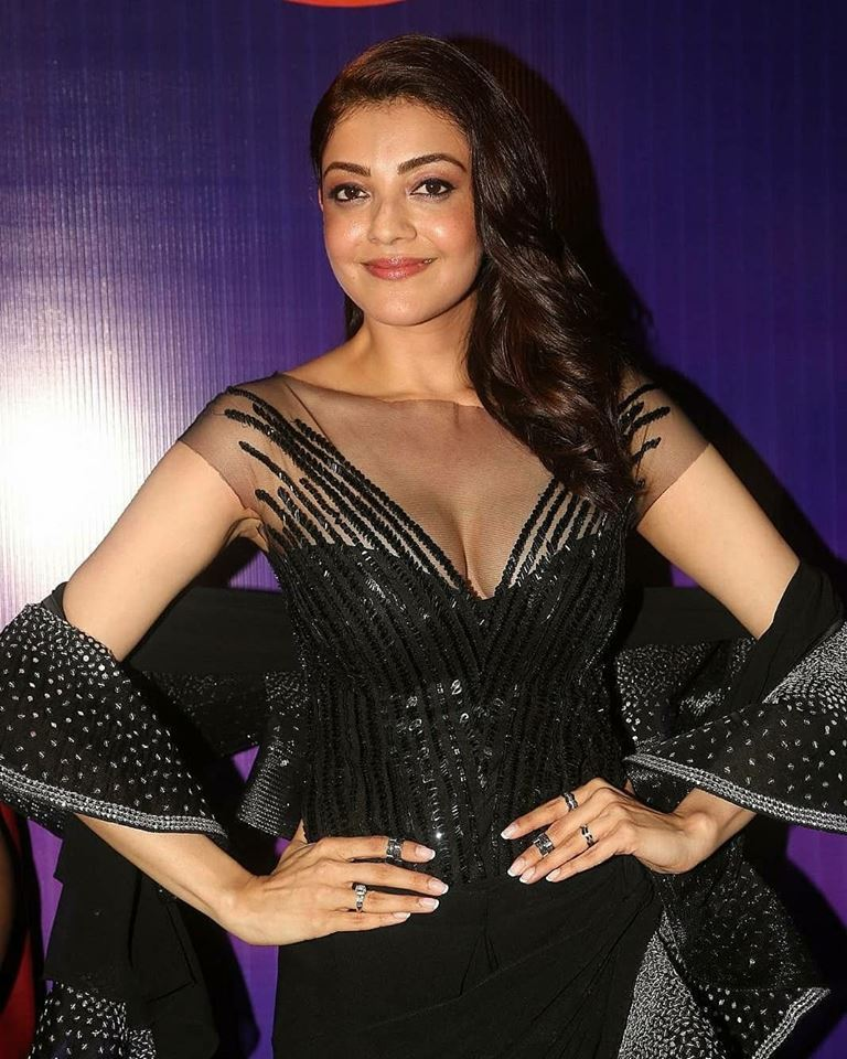 Sexy Kajal Agarwal Photos from Aspara Awards - Sexy Actress Pictures | Hot Actress Pictures