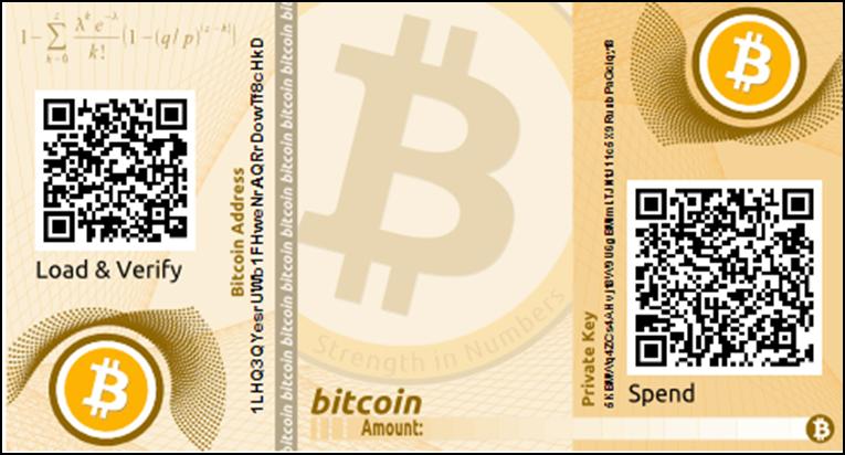 Bitcoin Paper Wallet