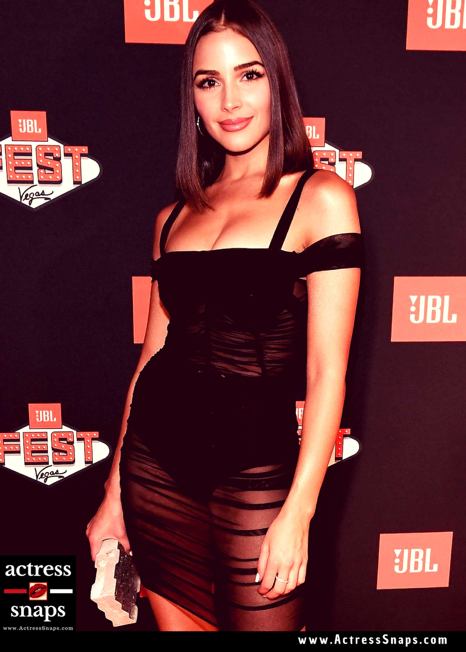 Olivia Culpo Photos from JBL Event 2018 - Sexy Actress Pictures | Hot Actress Pictures - ActressSnaps.com