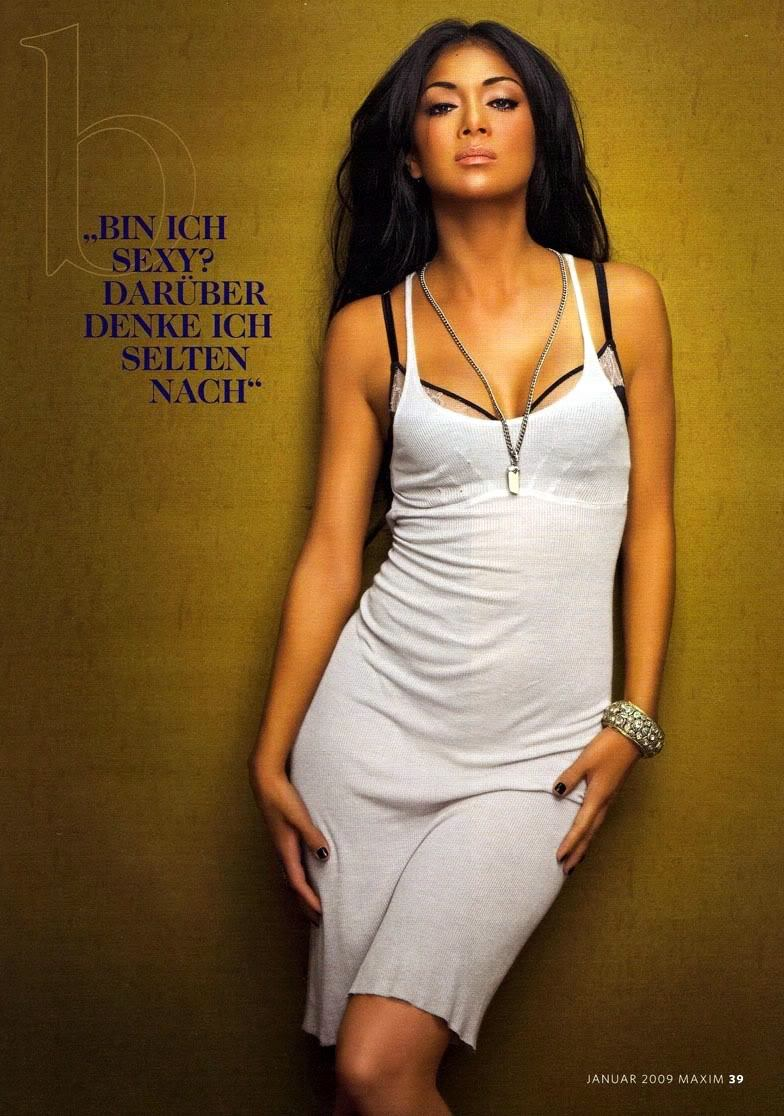 Nicole Scherzinger - Maxim Scans - Sexy Actress Pictures | Hot Actress Pictures - ActressSnaps.com