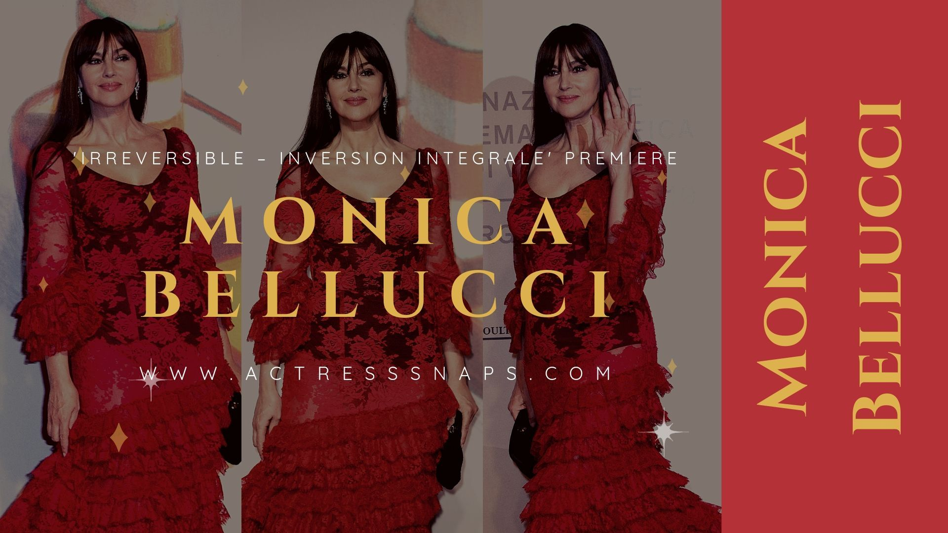 Monica Bellucci Photos -  'Irreversible – Inversion Integrale' Premiere - Sexy Actress Pictures | Hot Actress Pictures - ActressSnaps.com