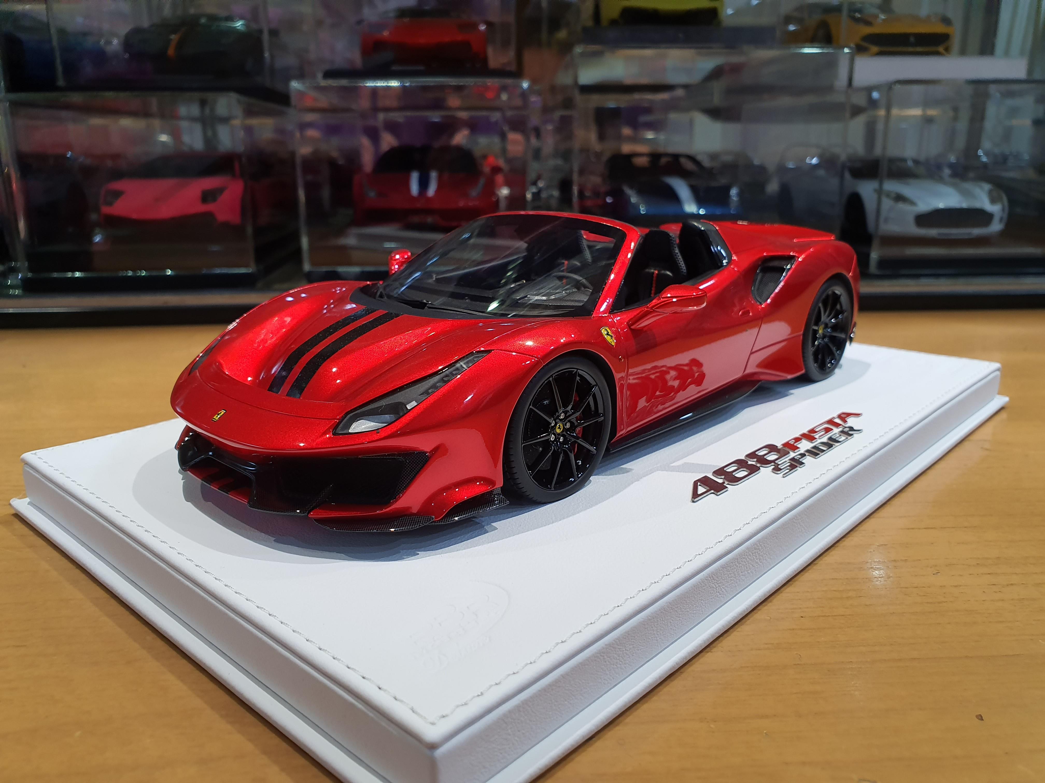 Bbr Ferrari 488 Pista Spider Ferrari Diecastxchange Com Diecast Cars Forums