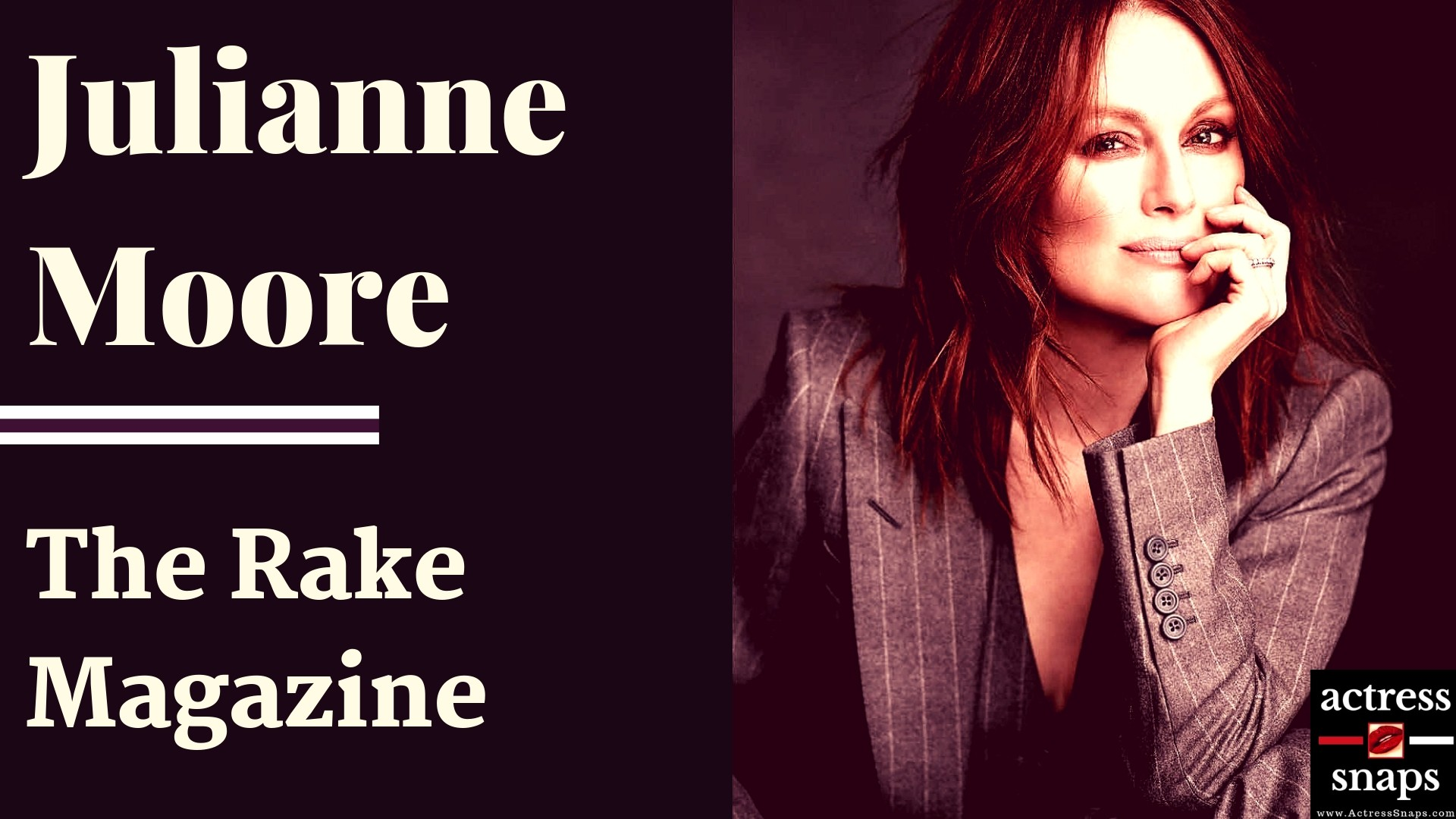 Julianne Moore - The Rake Magazine Photos - Sexy Actress Pictures | Hot Actress Pictures - ActressSnaps.com