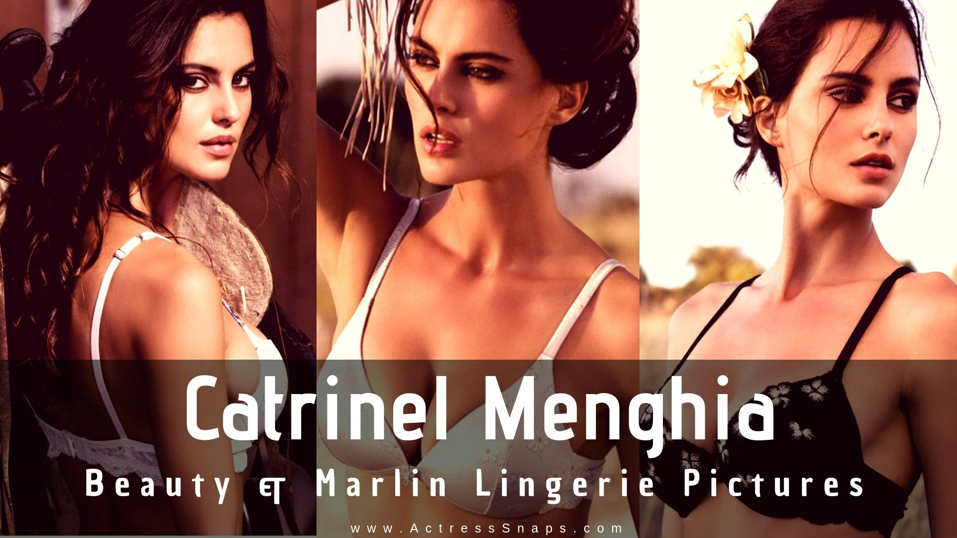 Catrinel Menghia - Beauty and Marlin Lingerie Shoot - Sexy Actress Pictures | Hot Actress Pictures - ActressSnaps.com