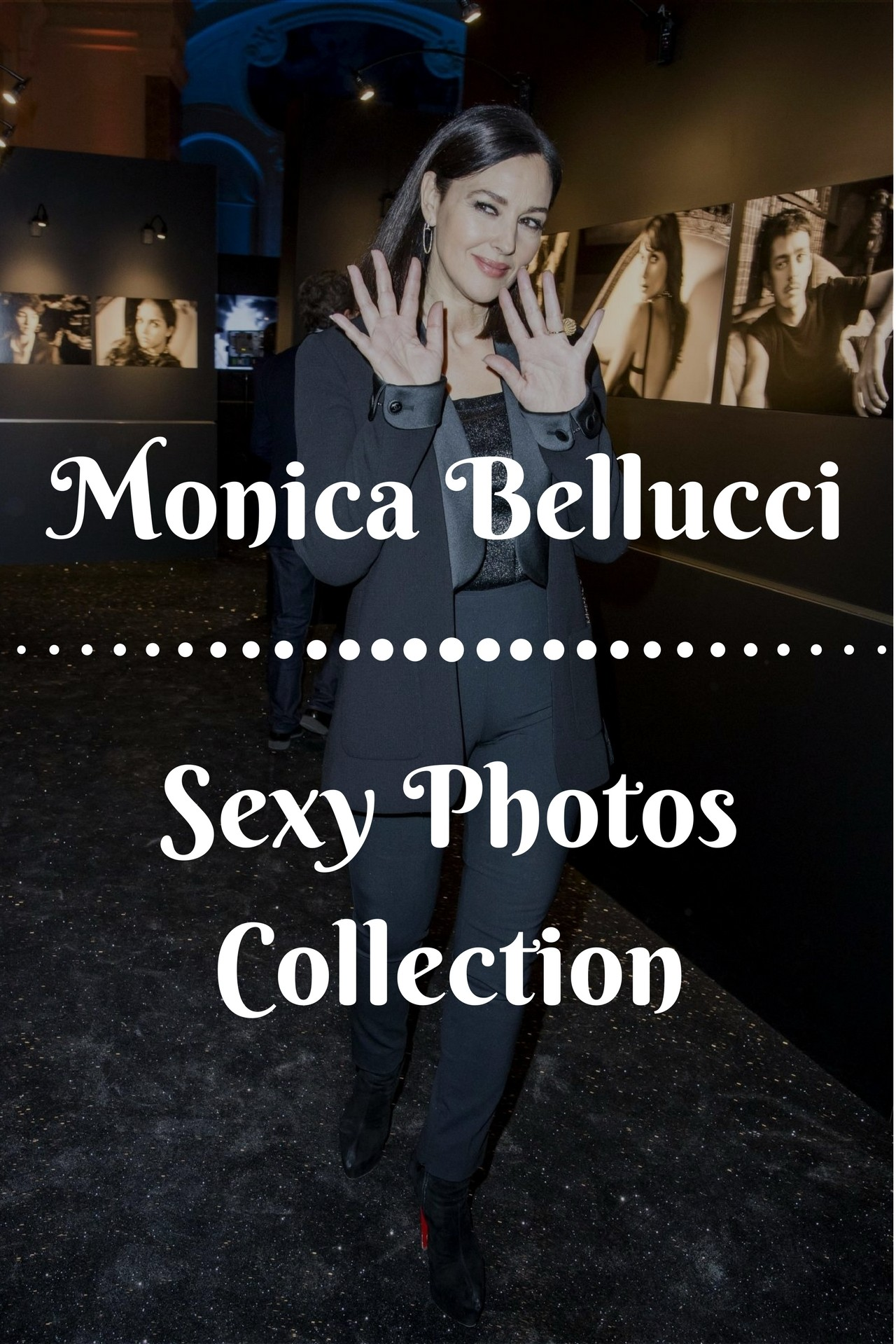 Monica Bellucci at Cesar's Award Party - Sexy Actress Pictures | Hot Actress Pictures - ActressSnaps.com