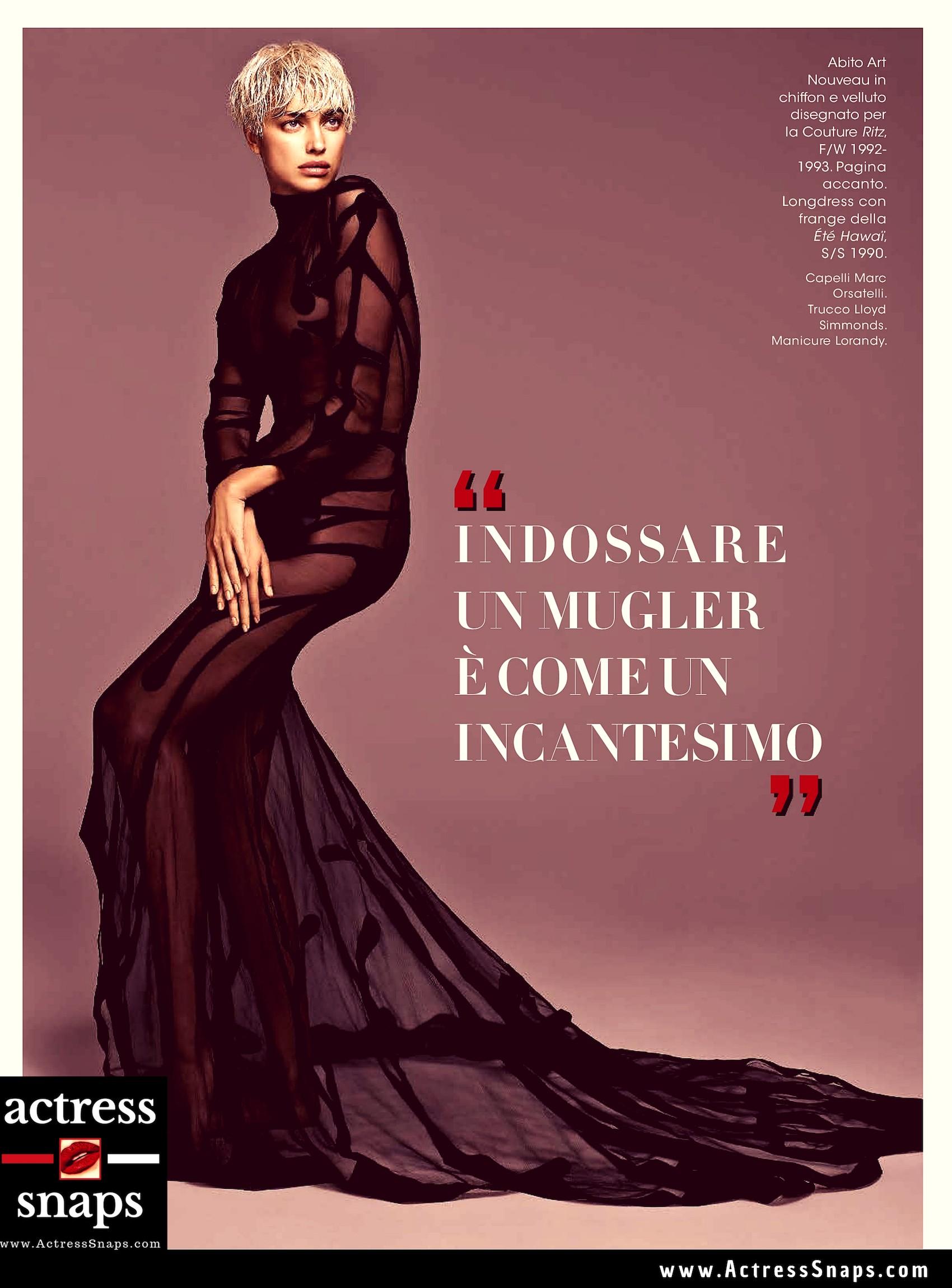 Irina Shayk - Glamour Italia Magazine - Sexy Actress Pictures   Hot Actress Pictures - ActressSnaps.com