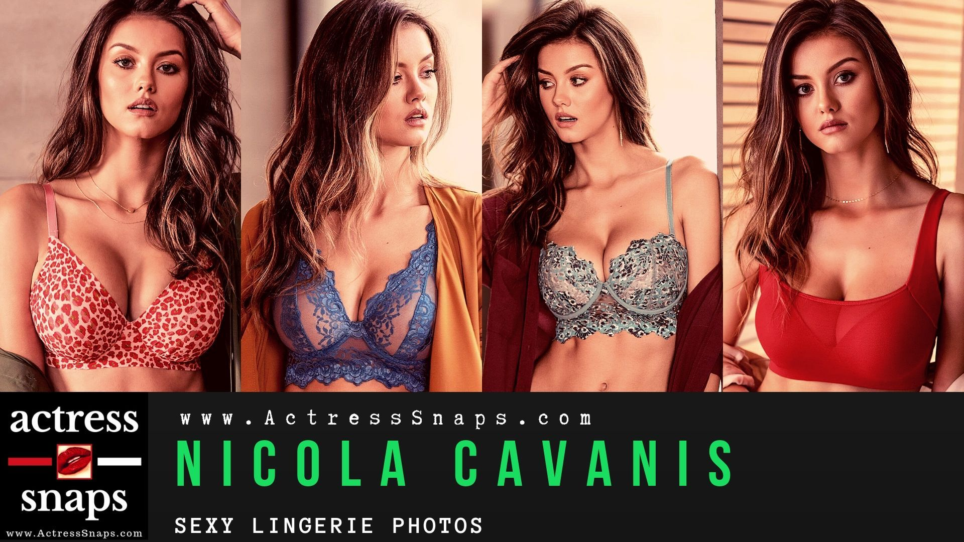 Nicola Cavanis - Lingerie Photoshoot - Sexy Actress Pictures | Hot Actress Pictures - ActressSnaps.com