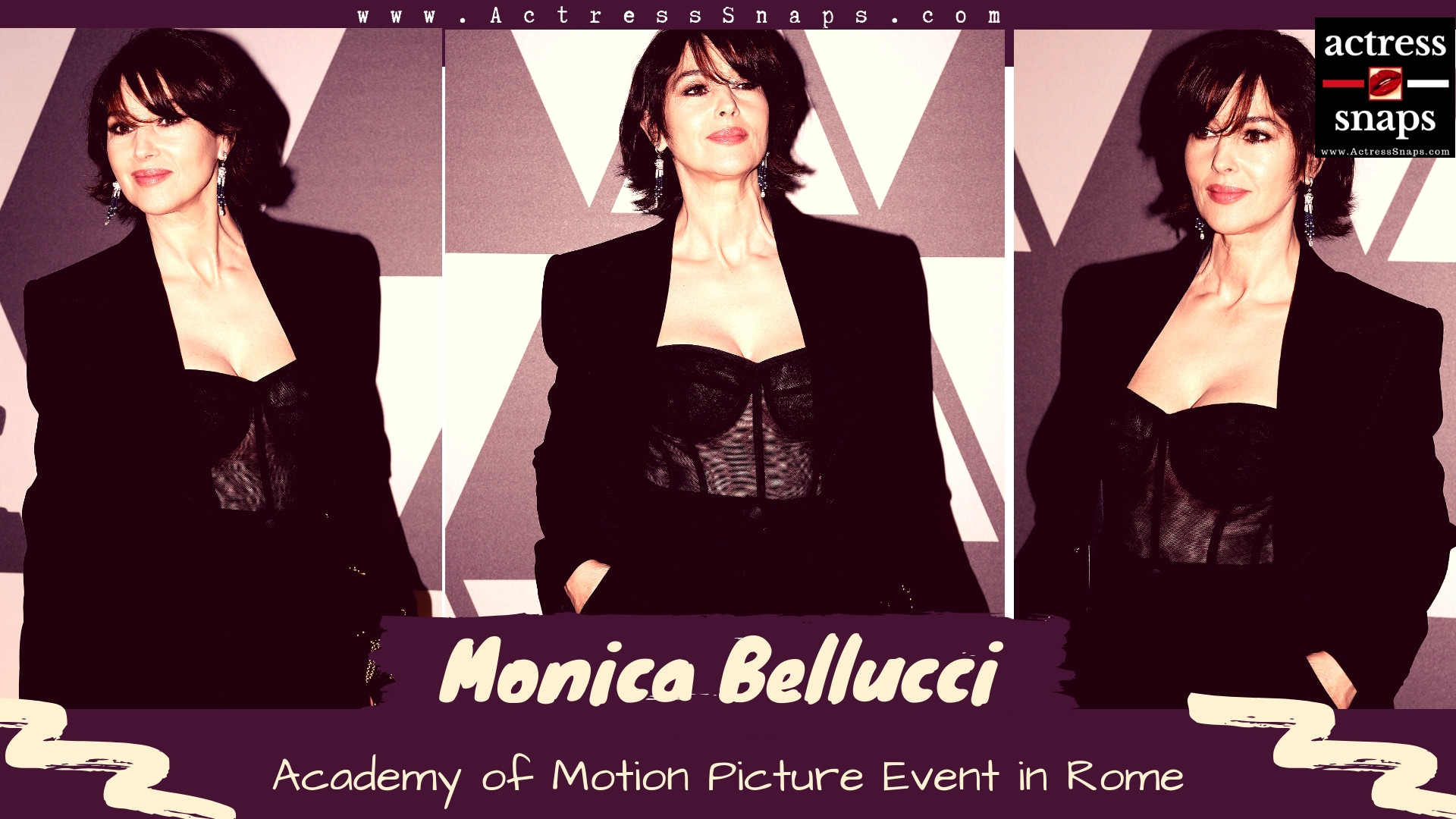 Monica Bellucci - Photos from Motion Picture Event in Rome - Sexy Actress Pictures | Hot Actress Pictures - ActressSnaps.com