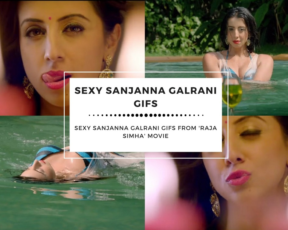 Hot Sanjanna Galrani Sexy GIF Collections - Sexy Actress Pictures | Hot Actress Pictures - ActressSnaps.com