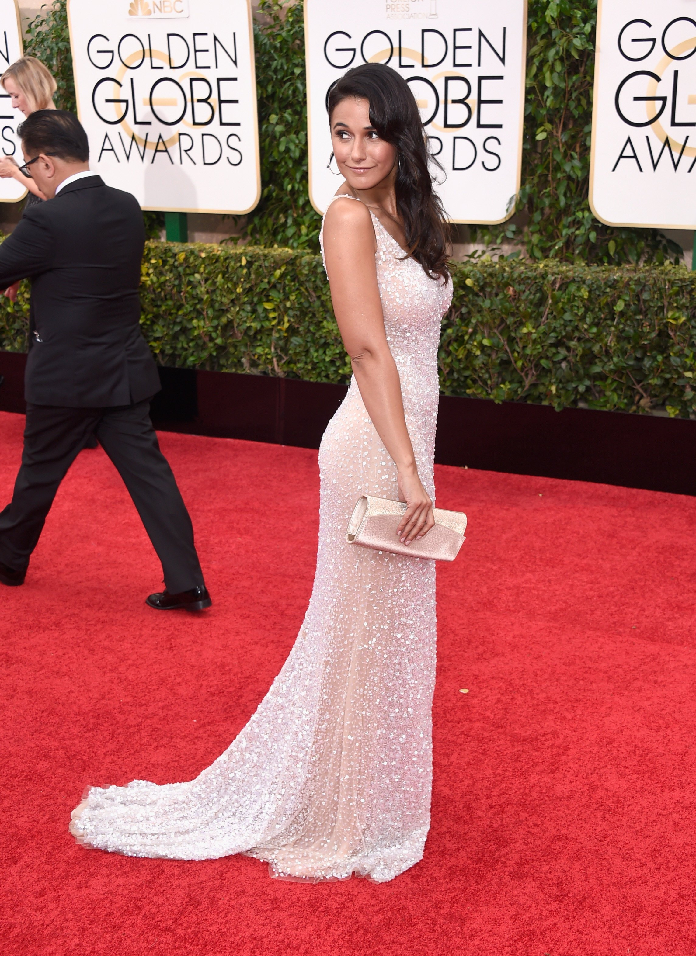 Emmanuelle Chriqui - Sexy Golden Globe Award Pictures - Sexy Actress Pictures | Hot Actress Pictures - ActressSnaps.com