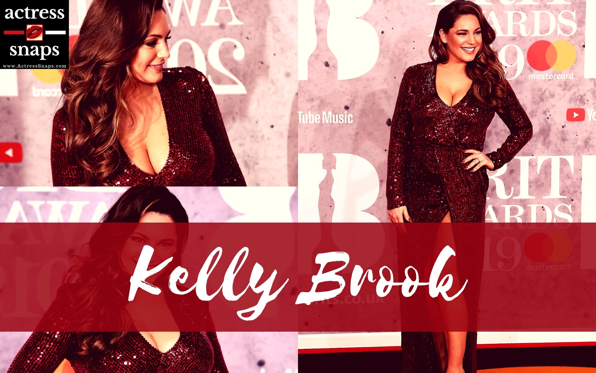 Sexy Kelly Brook at The Brit Awards - Sexy Actress Pictures | Hot Actress Pictures - ActressSnaps.com