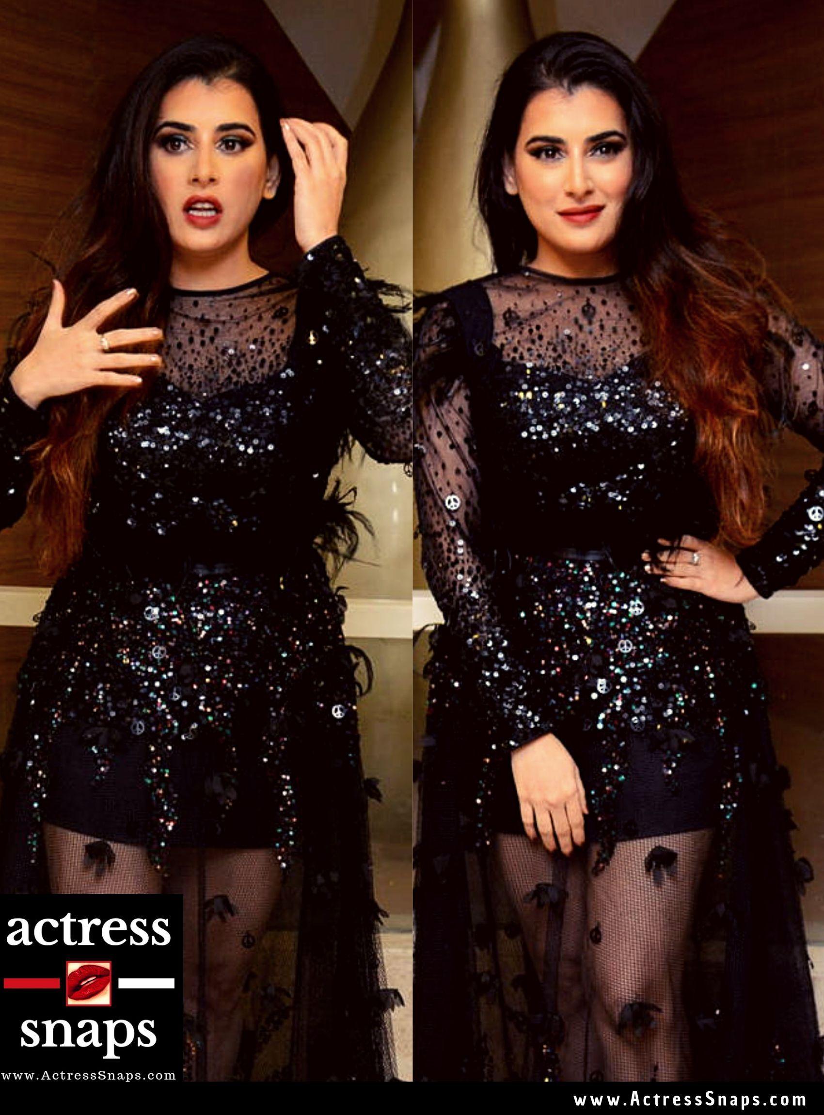 Veda /Archana Sastry - Sexy in Black Dress - Sexy Actress Pictures | Hot Actress Pictures - ActressSnaps.com