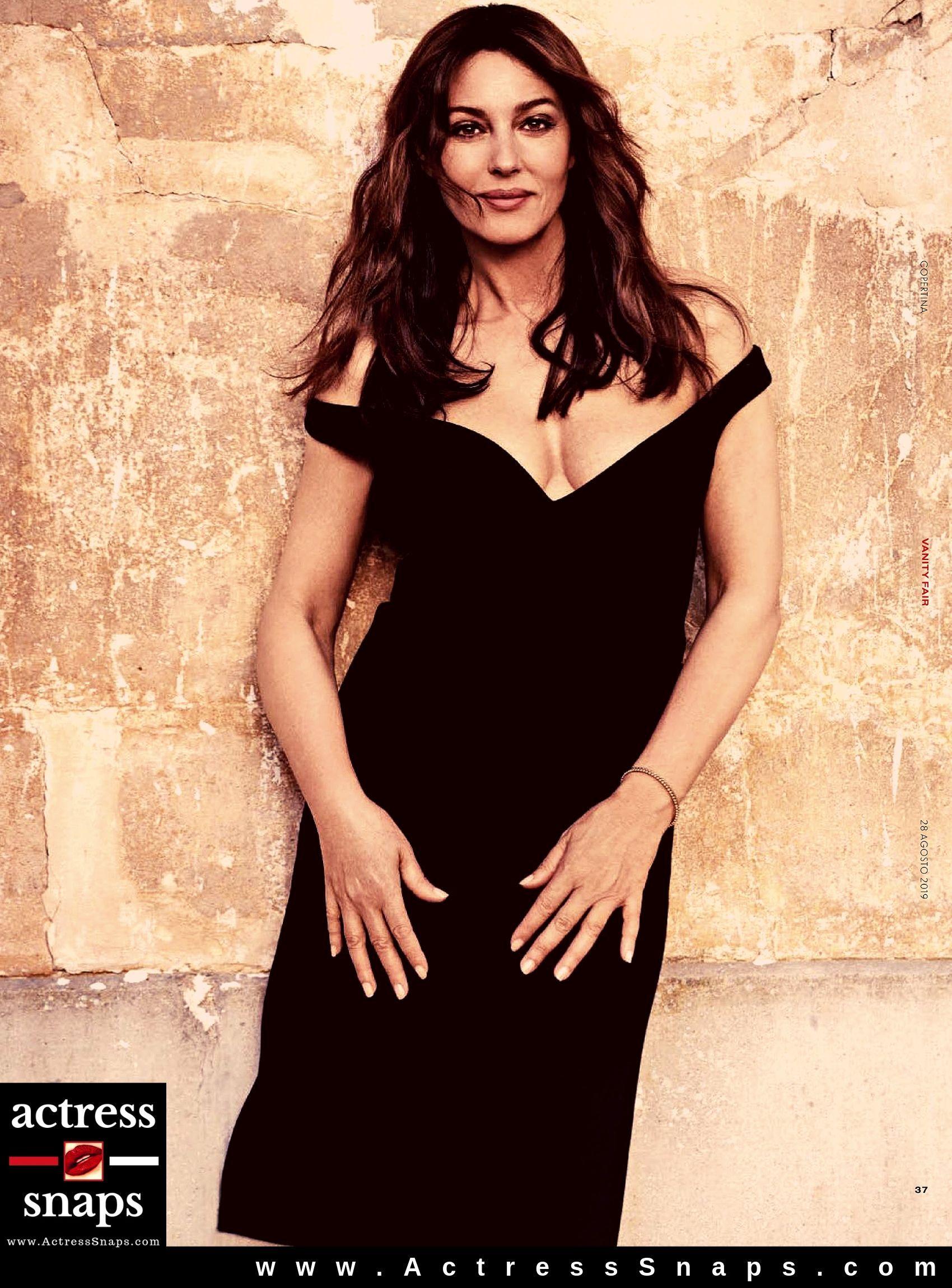 Monica Bellucci - Vanity Fair Italia Magazine - Sexy Actress Pictures | Hot Actress Pictures - ActressSnaps.com