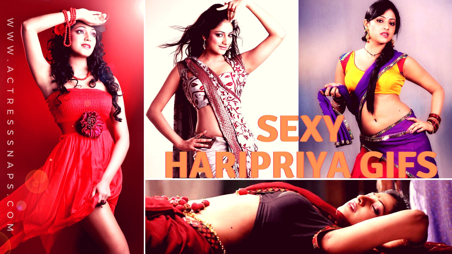 Sexy Actress Haripriya GIFs - Sexy Actress Pictures | Hot Actress Pictures - ActressSnaps.com
