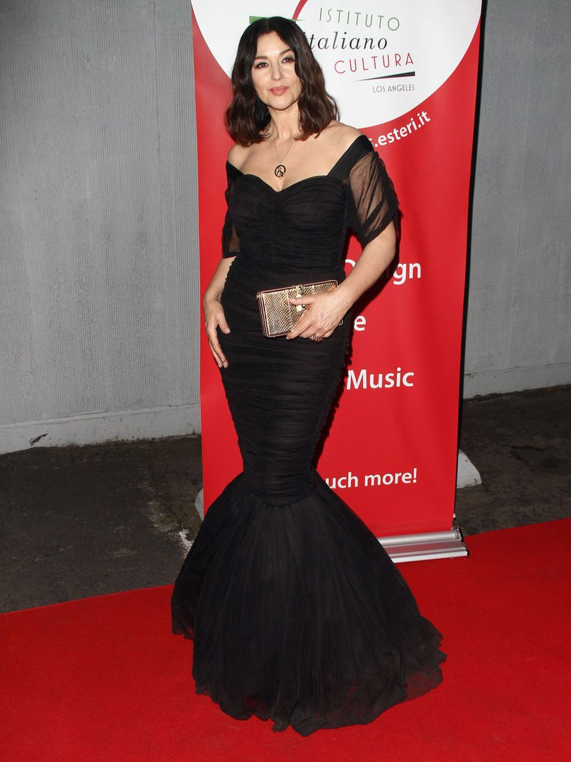 Monica Bellucci Pictures from Italian Film Festival  - Sexy Actress Pictures | Hot Actress Pictures - ActressSnaps.com