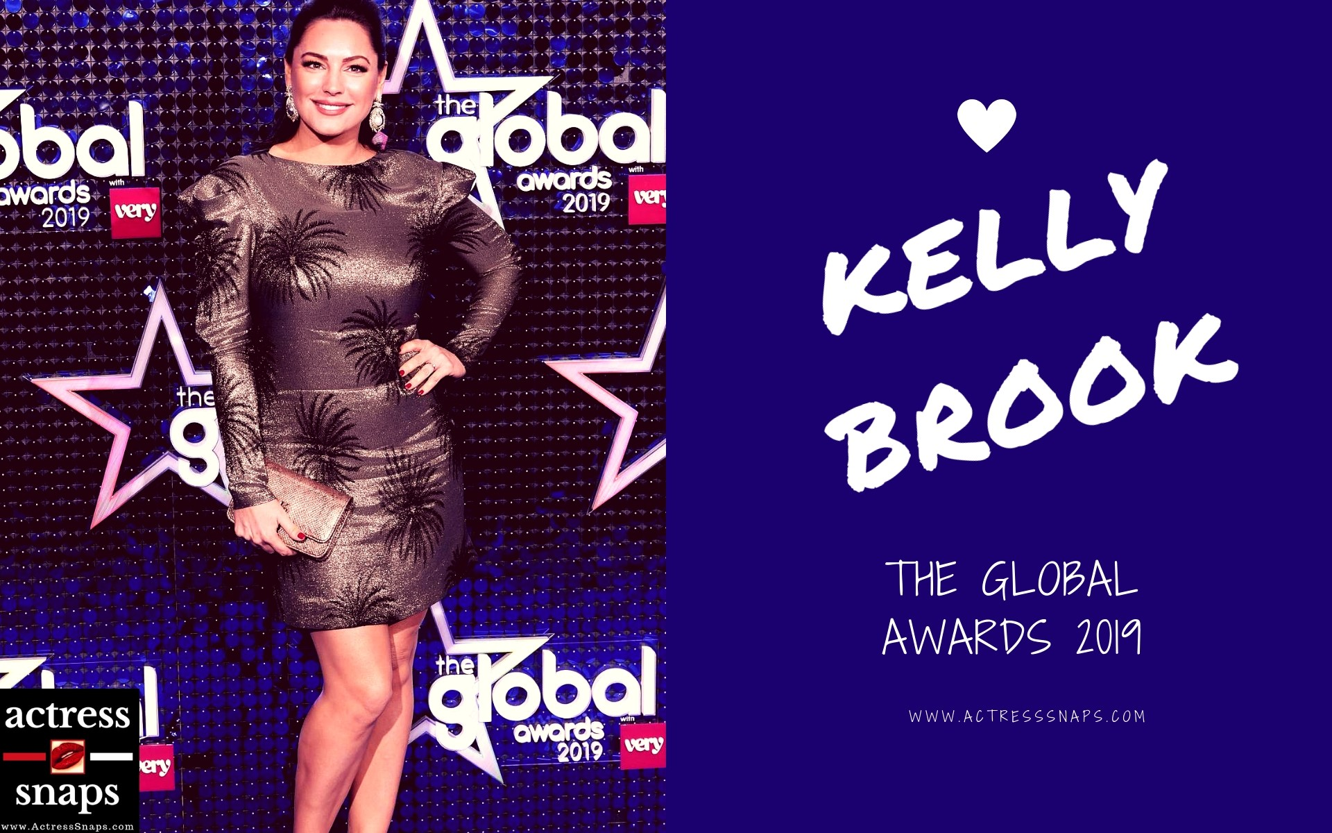 Kelly Brook Pictures - Global Awards 2019 - Sexy Actress Pictures | Hot Actress Pictures - ActressSnaps.com
