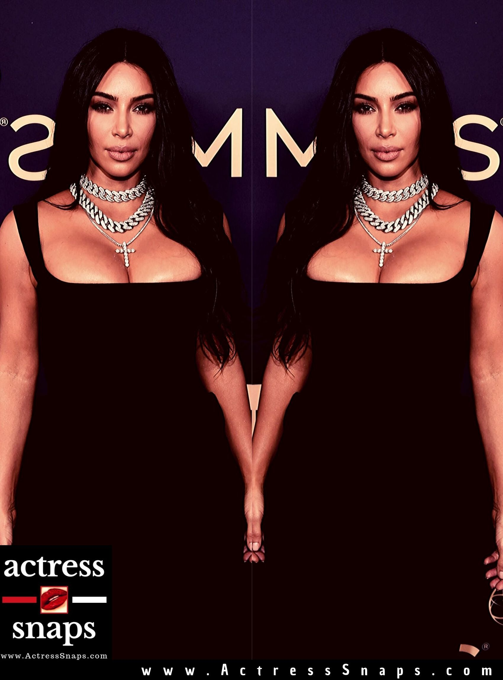 Kim Kardashian at 71st Emmy Awards - Sexy Actress Pictures | Hot Actress Pictures - ActressSnaps.com