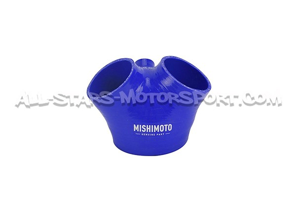Mishimoto Audi S4 Silicone Throttle Body Hose 2000-2002 Blue MMHOSE-AUD-TBBL