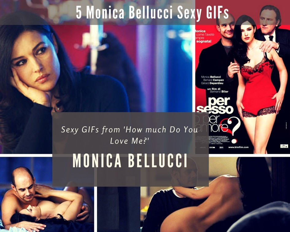 Sexy Monica Bellucci GIFs from 'How much Do You love Me?' - Sexy Actress Pictures | Hot Actress Pictures - ActressSnaps.com
