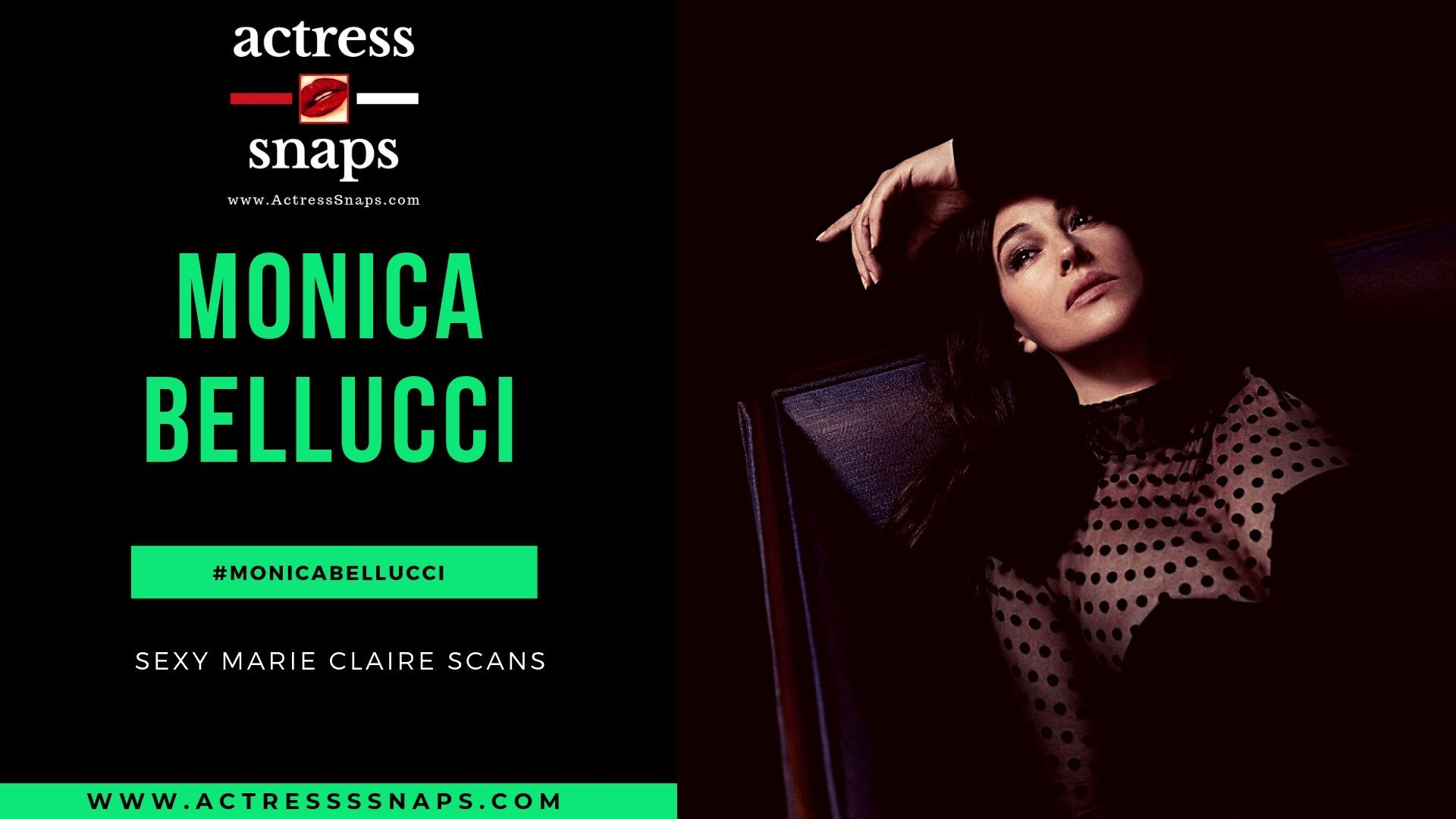 Monica Bellucci - Marie Claire Magazine - Sexy Actress Pictures | Hot Actress Pictures - ActressSnaps.com