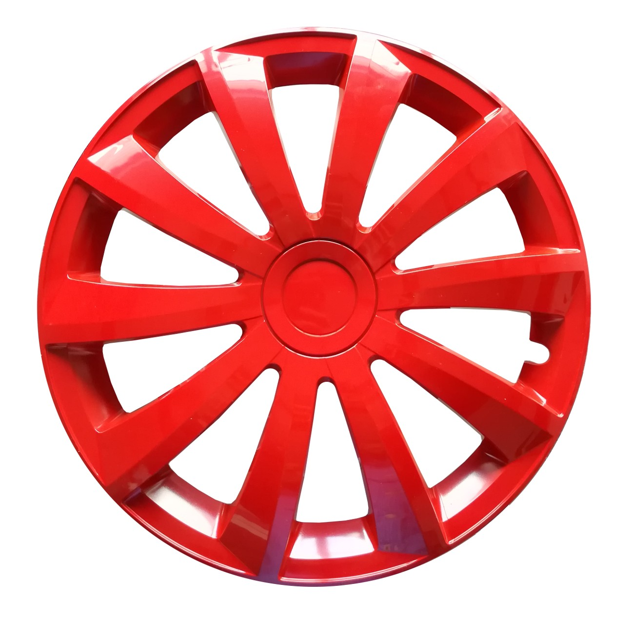 Fiat Panda 14 Red ONE Wheel Trim This Sale Is For One Wheel Trim If You Require a Set Please Change Quantity To 4