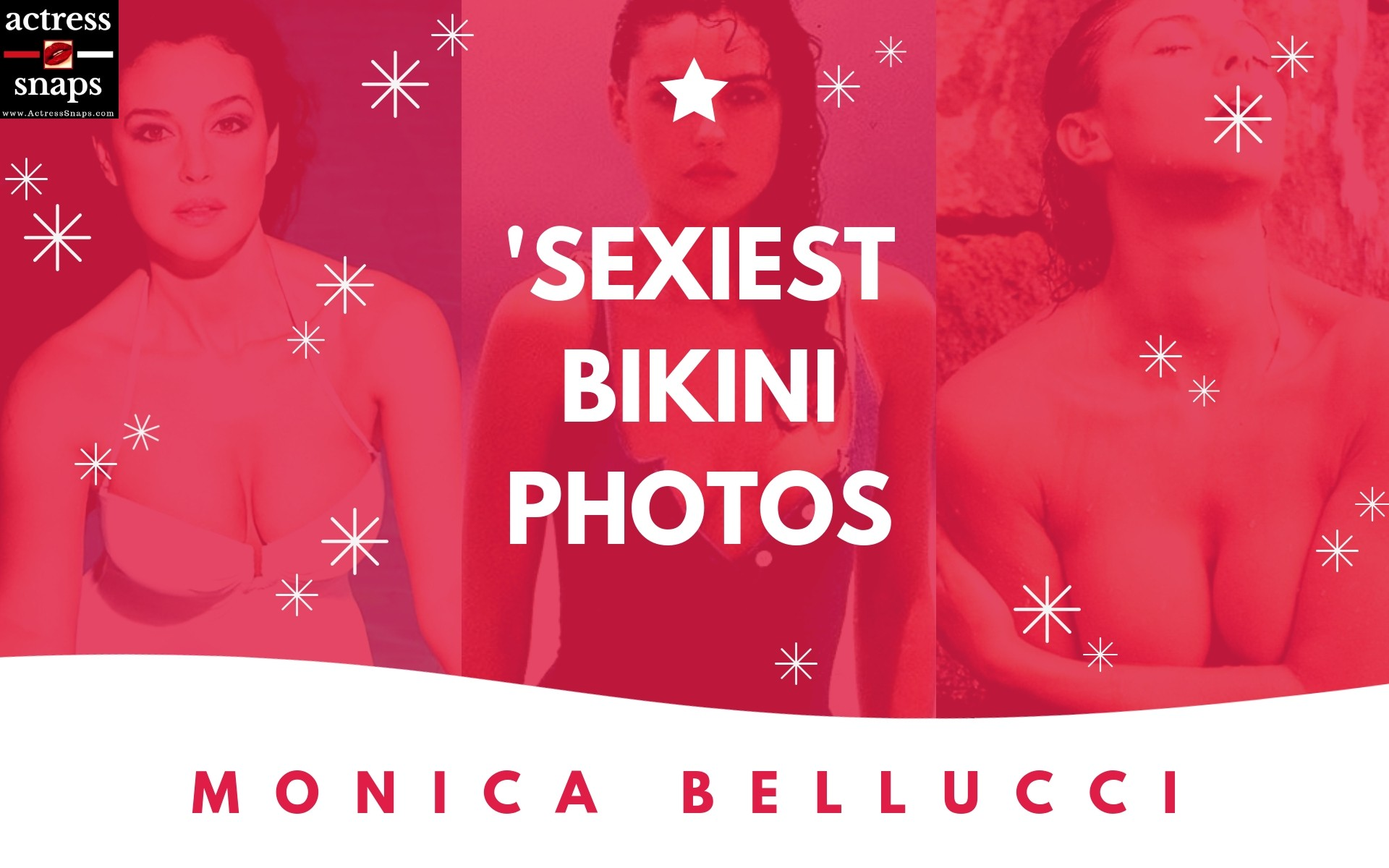 Sexy Monica Belluci Bikini Photos - Sexy Actress Pictures | Hot Actress Pictures - ActressSnaps.com
