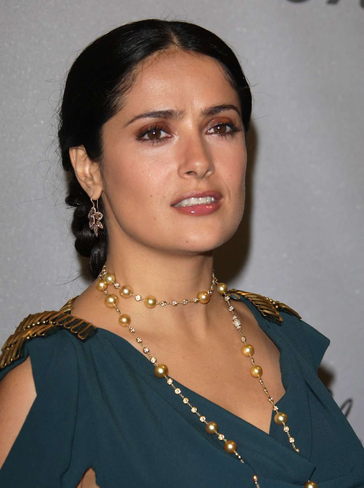 Selma Hayek - Cannes Chopard Trophy Party - Sexy Actress Pictures | Hot Actress Pictures