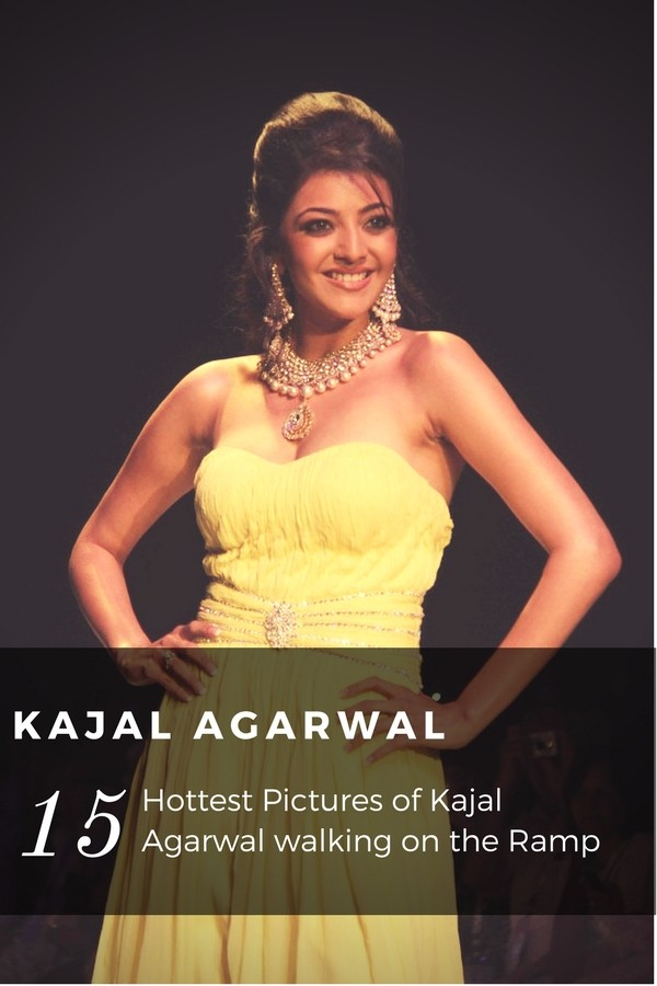 Sexy Kajal Agarwal on Ramp Pictures - Sexy Actress Pictures | Hot Actress Pictures