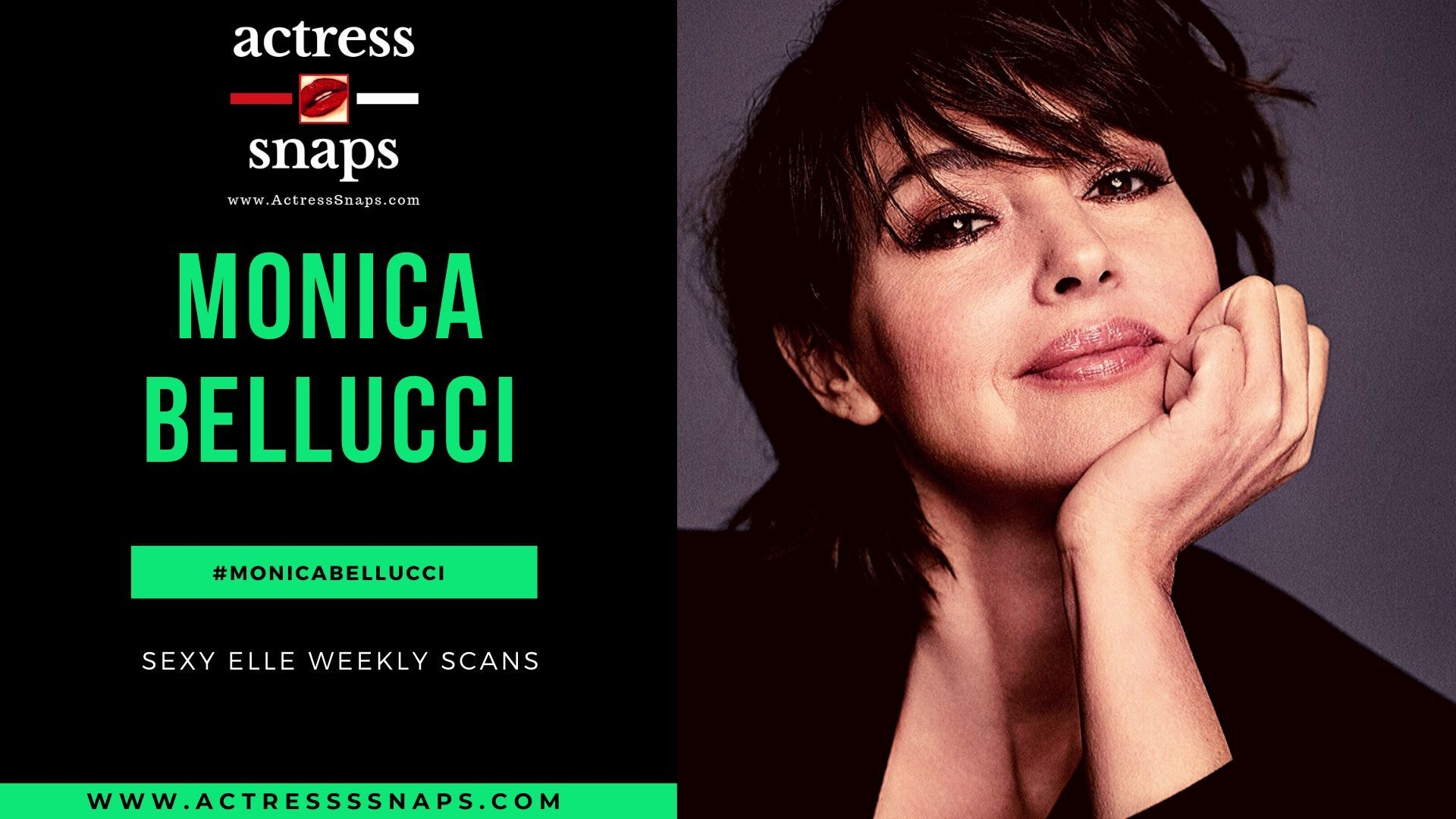 Monica Bellucci - Elle Magazine 2019 - Sexy Actress Pictures | Hot Actress Pictures - ActressSnaps.com