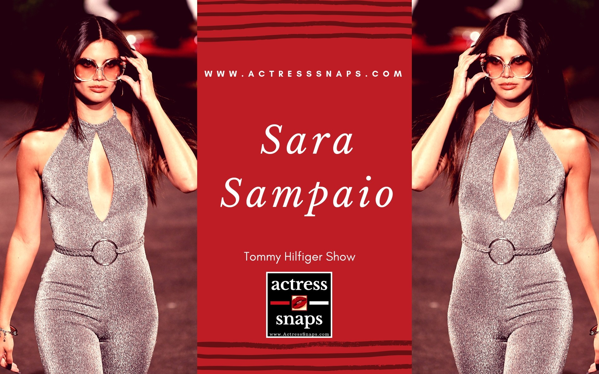 Sara Sampaio - Tommy Hilfiger Show - Sexy Actress Pictures | Hot Actress Pictures - ActressSnaps.com