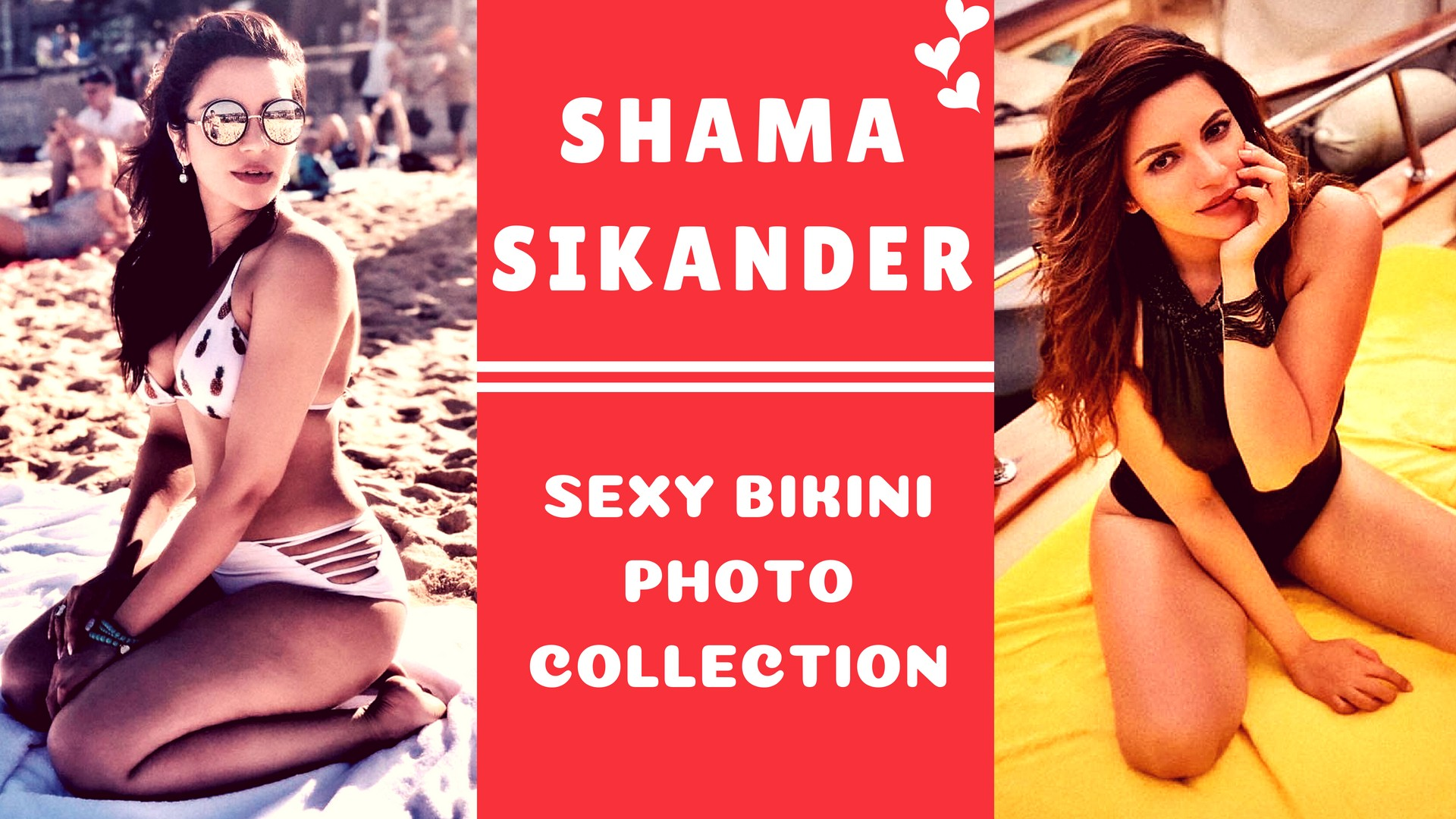 Sexy Shama Sikander Bikini Photos - Sexy Actress Pictures | Hot Actress Pictures - ActressSnaps.com