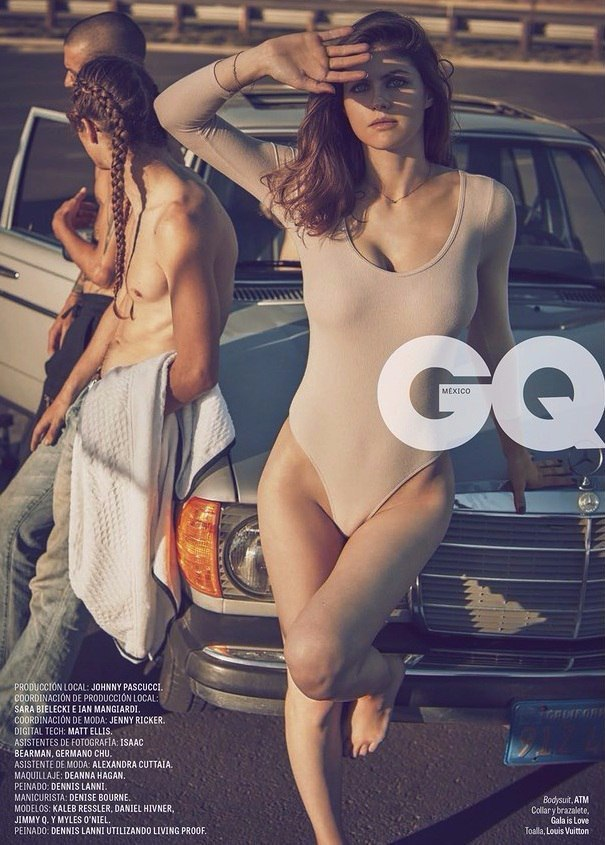 Sexy Alexandra Daddario - GQ Mexico Magazine Scans - Sexy Actress Pictures | Hot Actress Pictures - ActressSnaps.com