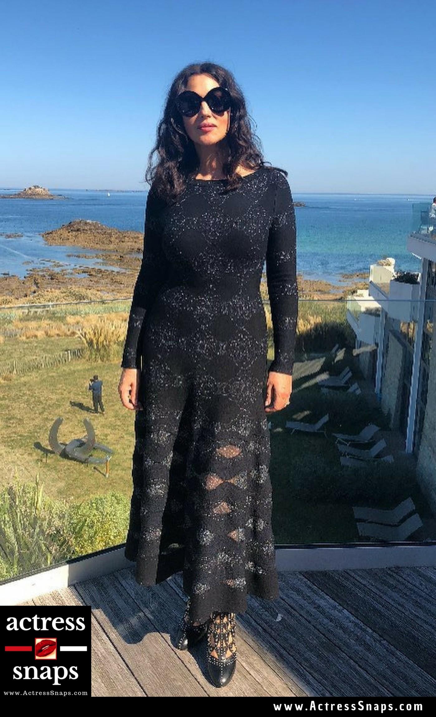 Monica Bellucci at The Dinard Film Festival Pictures #monicabellucci #bellucci
