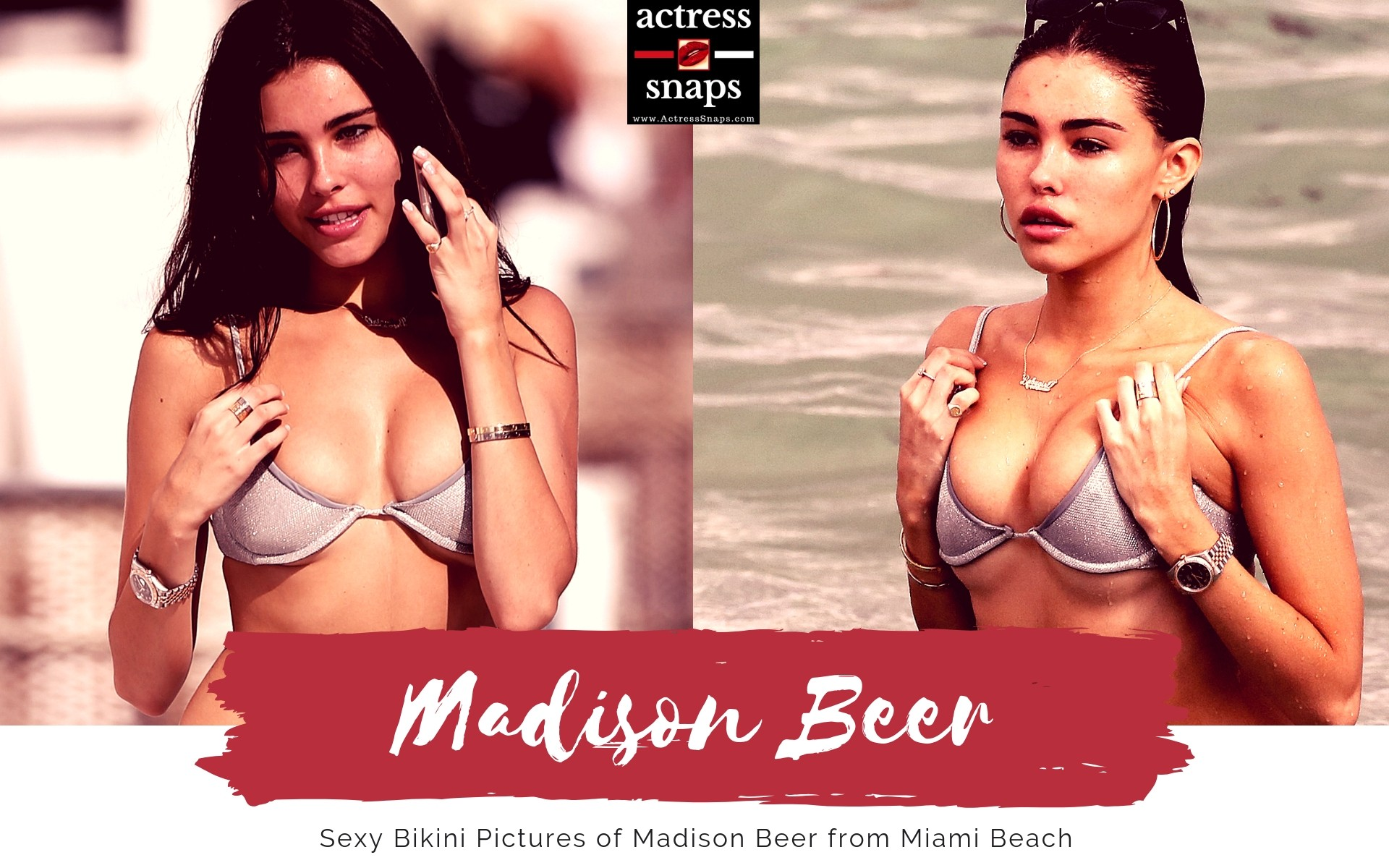 Sexy Madison Beer in Miami - Sexy Actress Pictures   Hot Actress Pictures - ActressSnaps.com