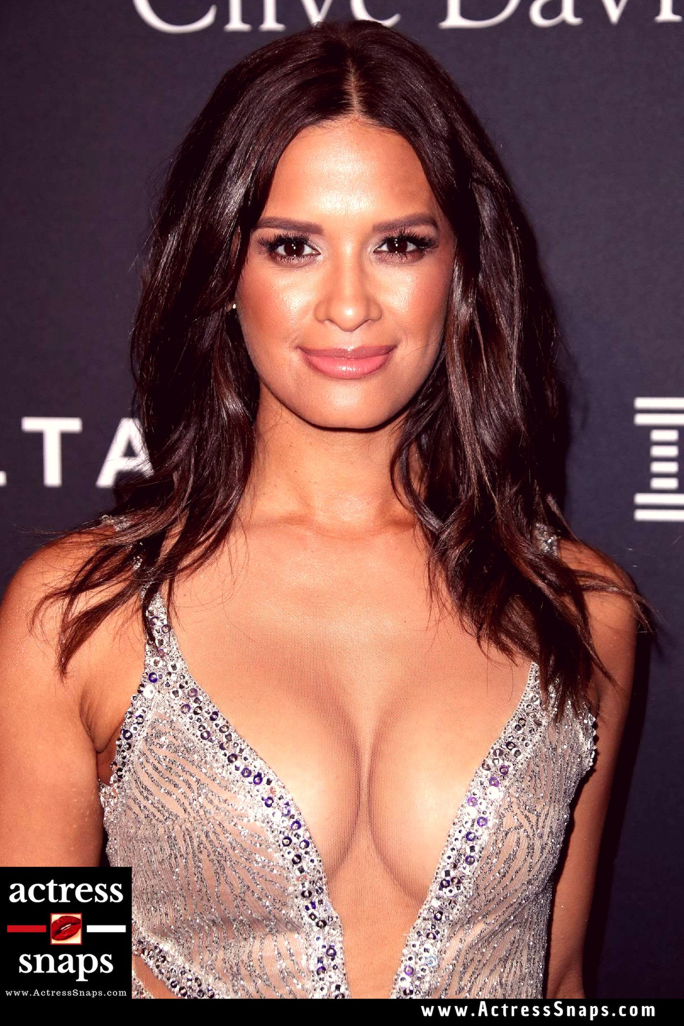 Sexy Rocsi Diaz at  Pre Grammy Gala - Sexy Actress Pictures | Hot Actress Pictures - ActressSnaps.com
