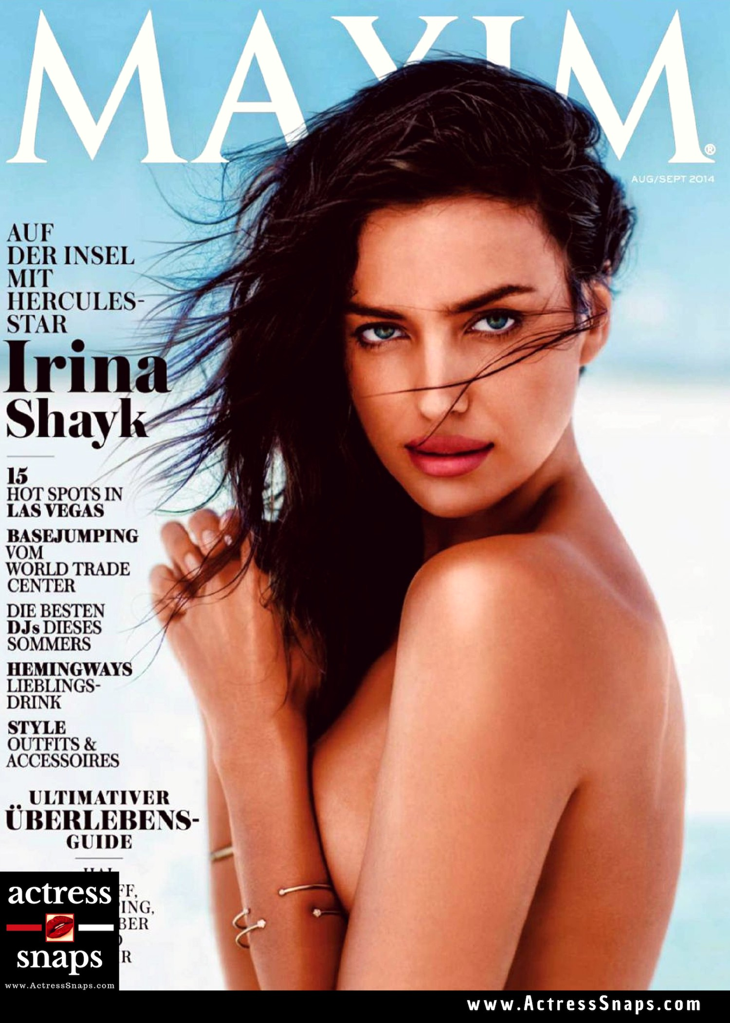 Irinia Shayk - Maxim Magazine Scans - Sexy Actress Pictures | Hot Actress Pictures - ActressSnaps.com