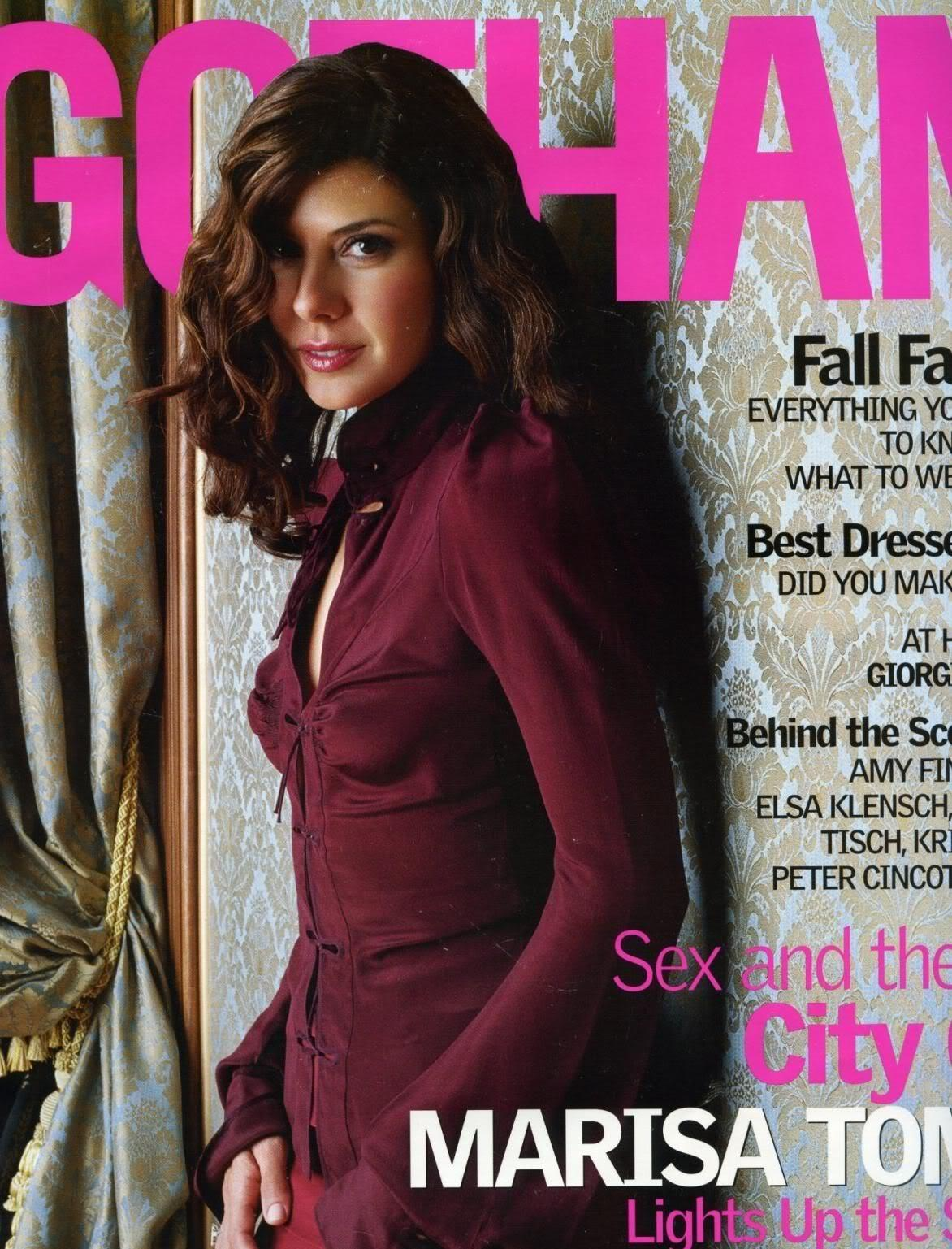 Marisa Tomei - Gotham Magazine Scans - Sexy Actress Pictures | Hot Actress Pictures - ActressSnaps.com