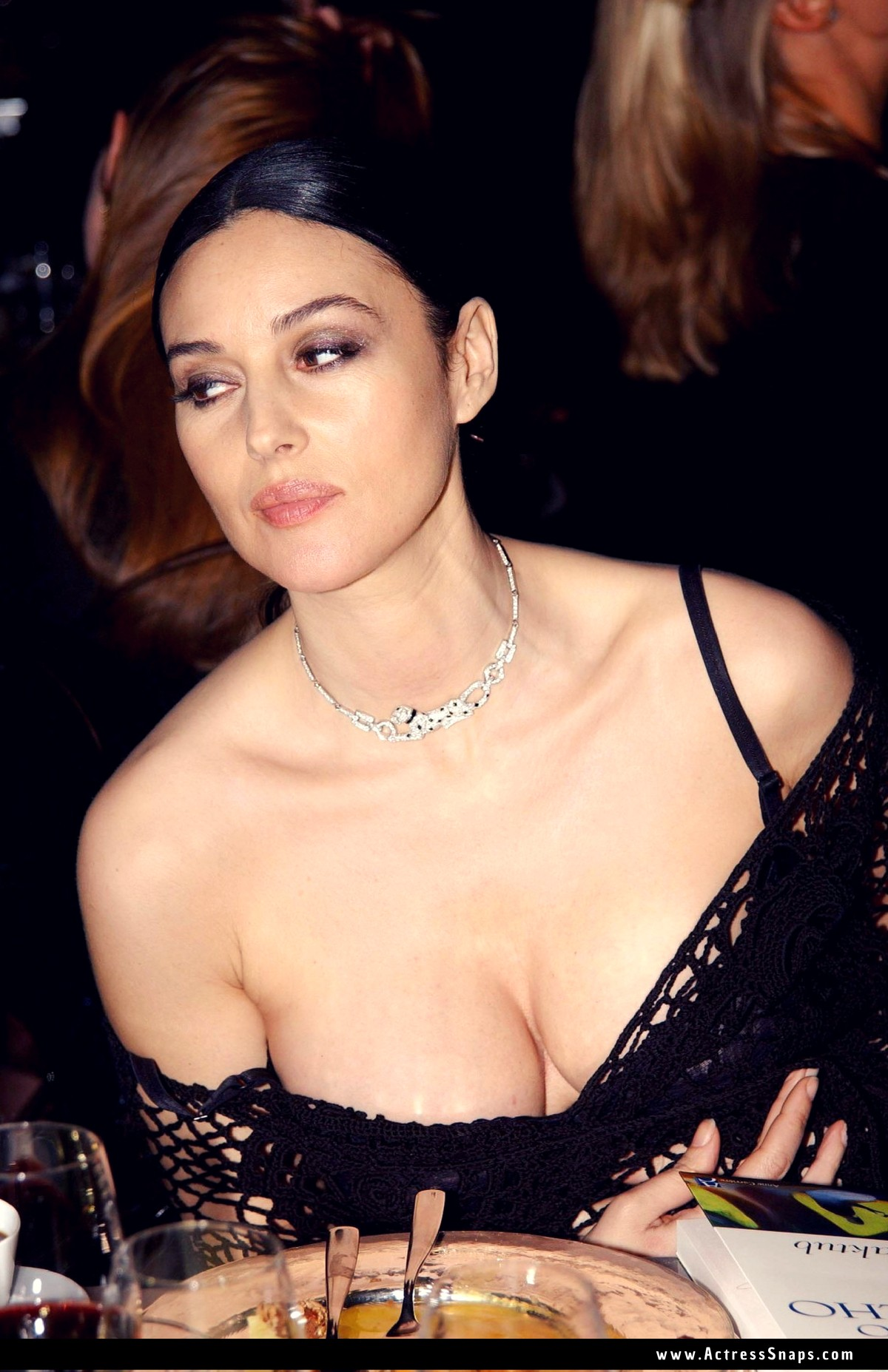 Sexy Monica Bellucci Cleavage Display Collection   - Sexy Actress Pictures | Hot Actress Pictures - ActressSnaps.com