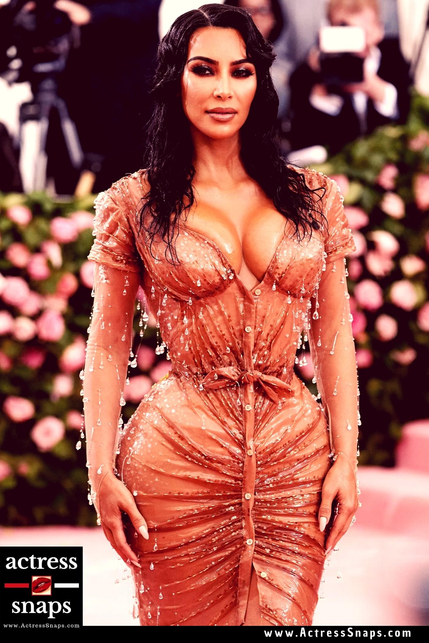 Sexy Kim Kardashian at Met Gala 2019 - Sexy Actress Pictures | Hot Actress Pictures - ActressSnaps.com