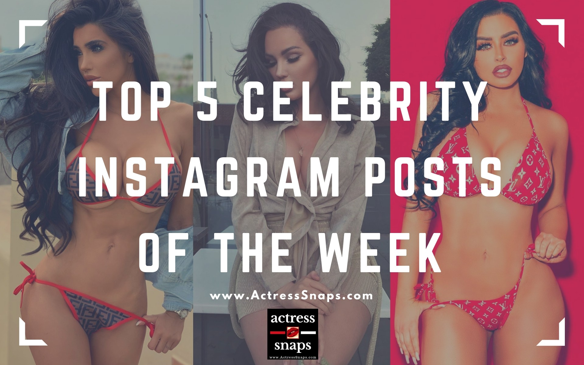 Trending Celebrity Instagram Pics of the Week - Sexy Actress Pictures | Hot Actress Pictures - ActressSnaps.com
