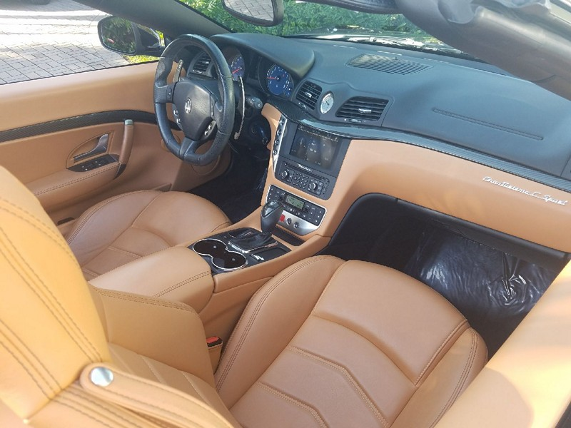2015 Maserati Gran Turismo Sport SC: 2015  Granturismo Convertible Sport SC Metallic Black over cuoio tan leather