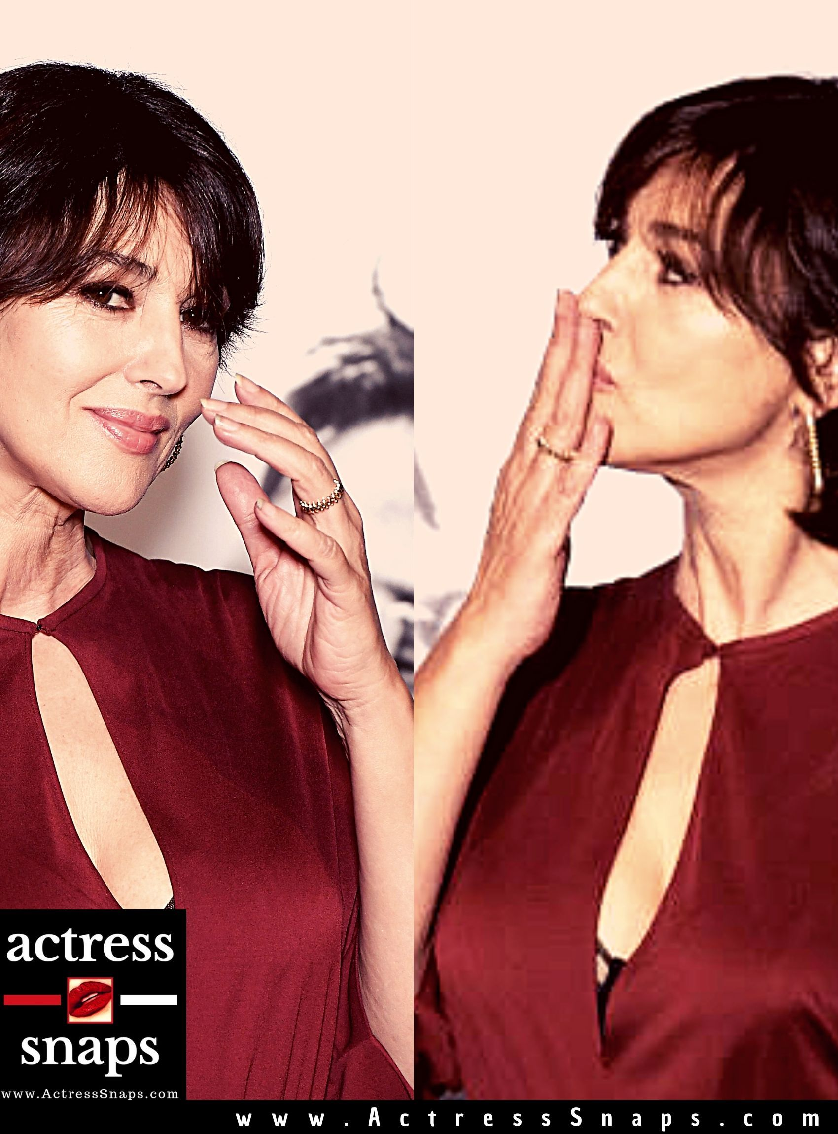 Monica Bellucci at the Lumiere Film Festival - Sexy Actress Pictures | Hot Actress Pictures - ActressSnaps.com