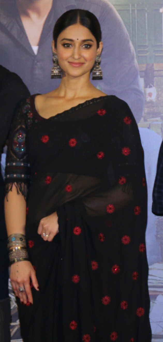 Ileana D'Cruz Hot in Saree at 'Raid' Movie Launch - Sexy Actress Pictures | Hot Actress Pictures - ActressSnaps.com