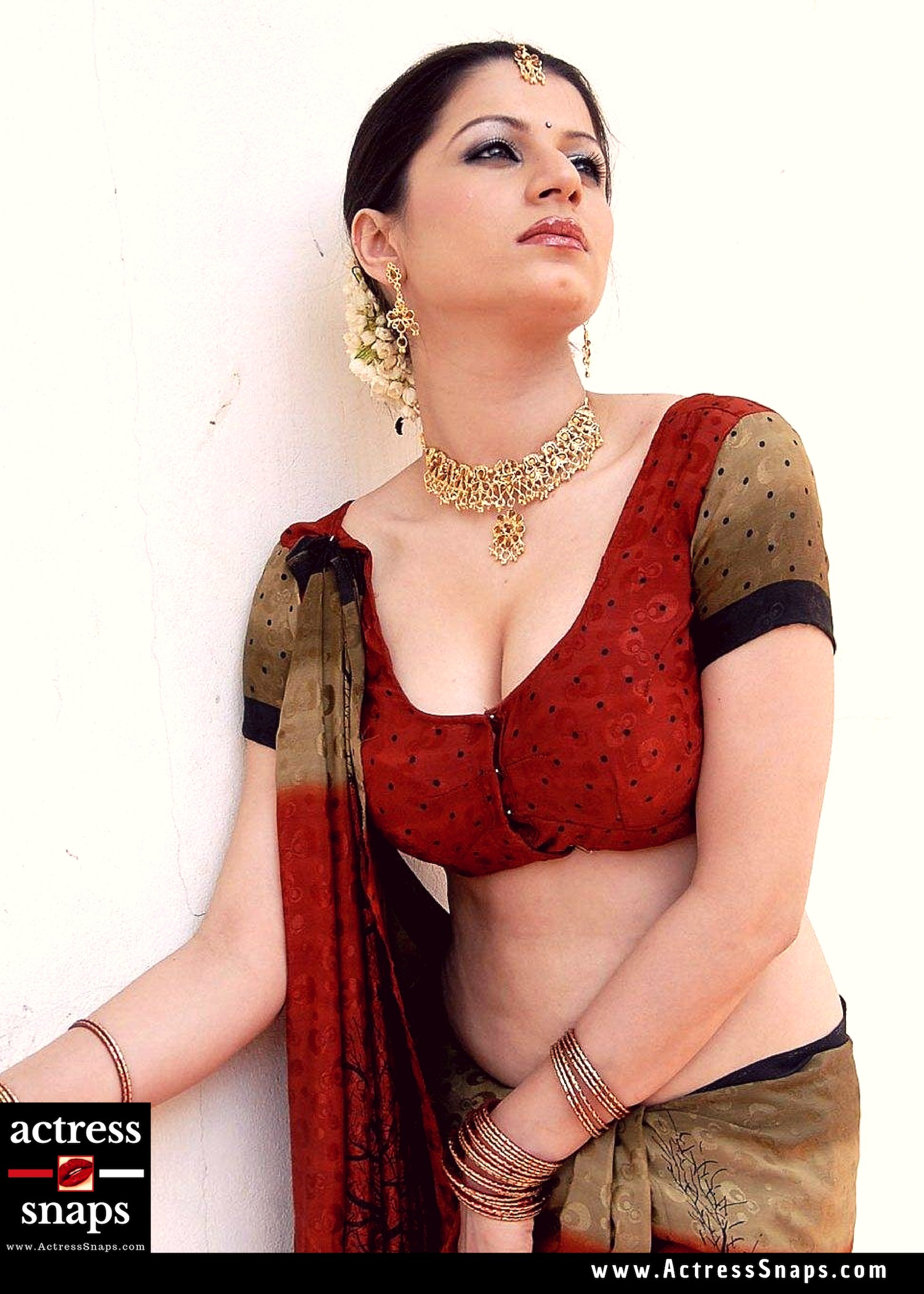 Sexy Charu Arora in Saree - Sexy Actress Pictures | Hot Actress Pictures - ActressSnaps.com