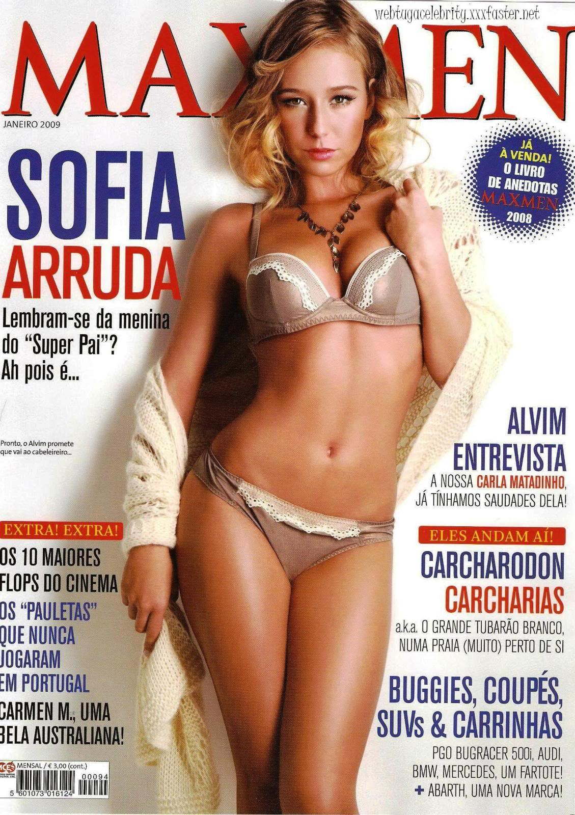 Sofia Arruda - MaxMen Scans - Sexy Actress Pictures | Hot Actress Pictures - ActressSnaps.com